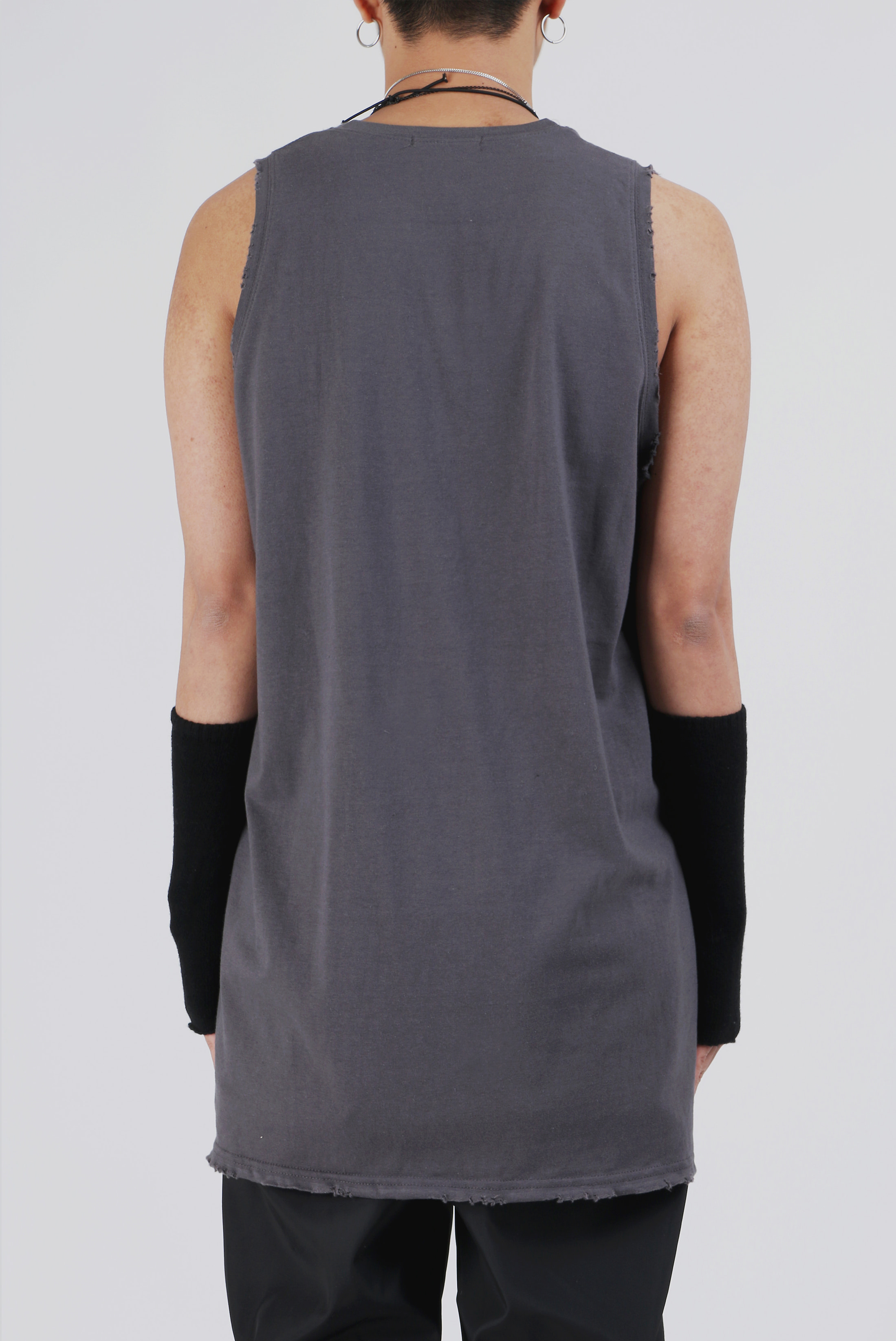 Basic Long Grunge Sleeveless