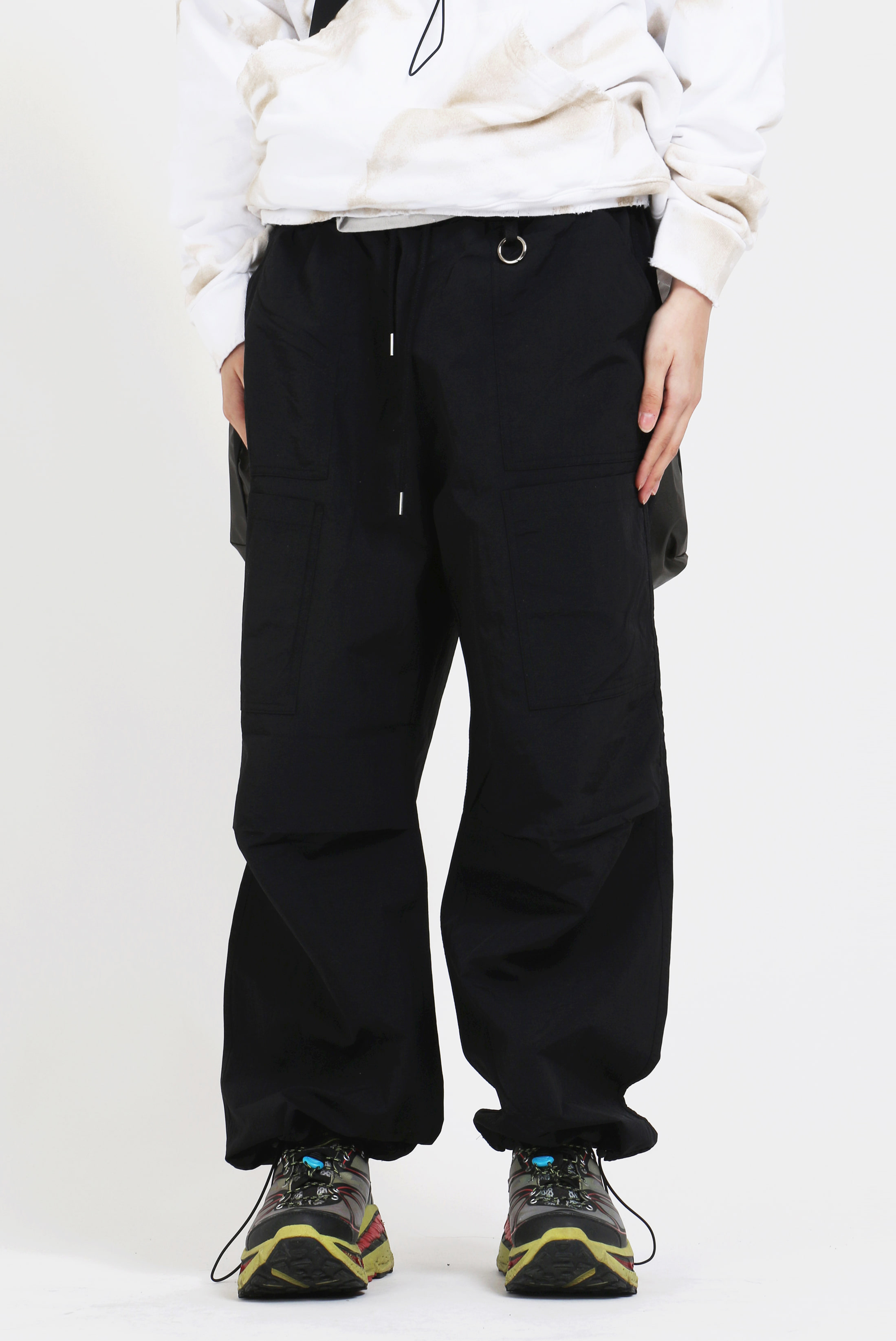N6 Loose_Wide Poket Pants