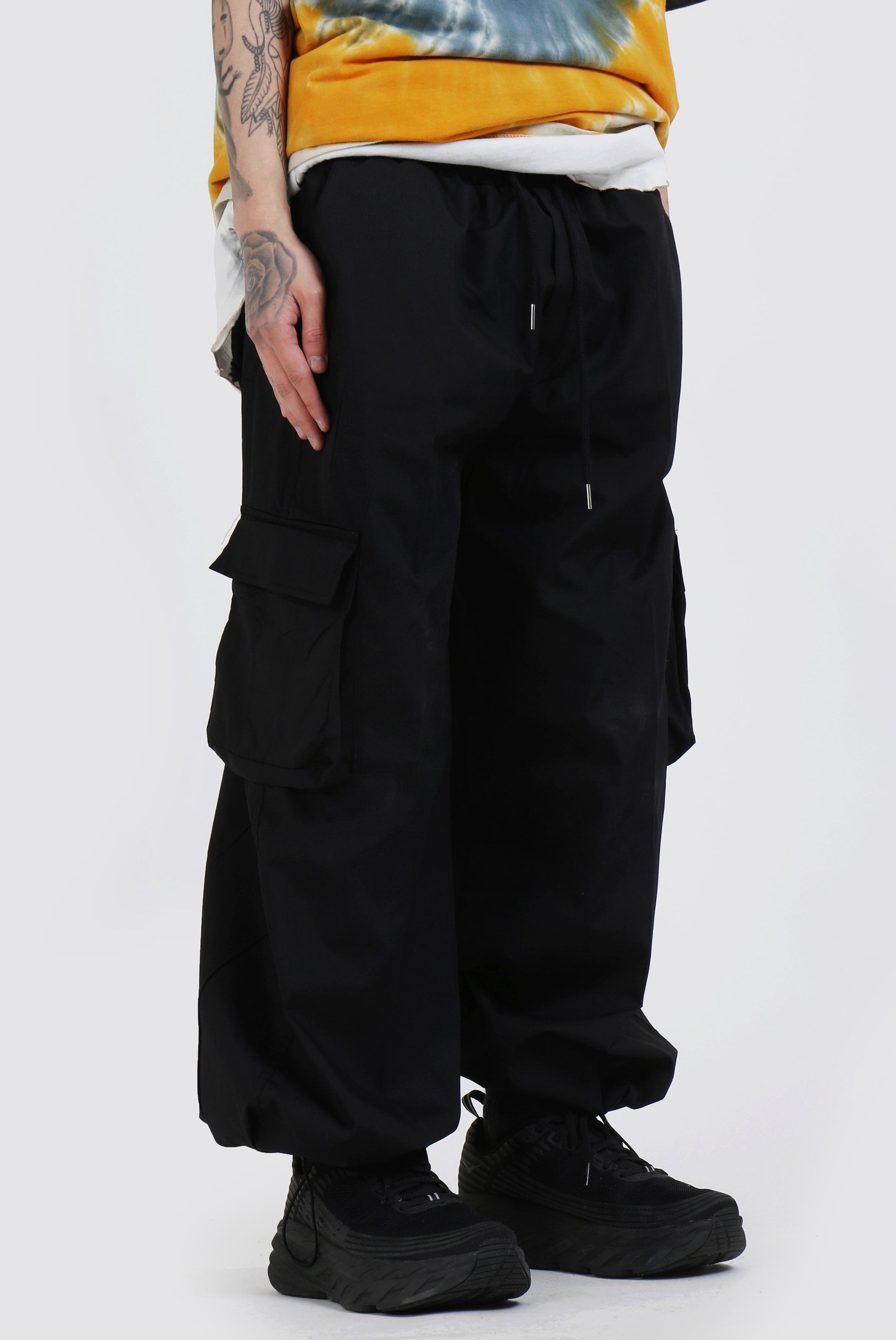 Wide_String Cargo Pants