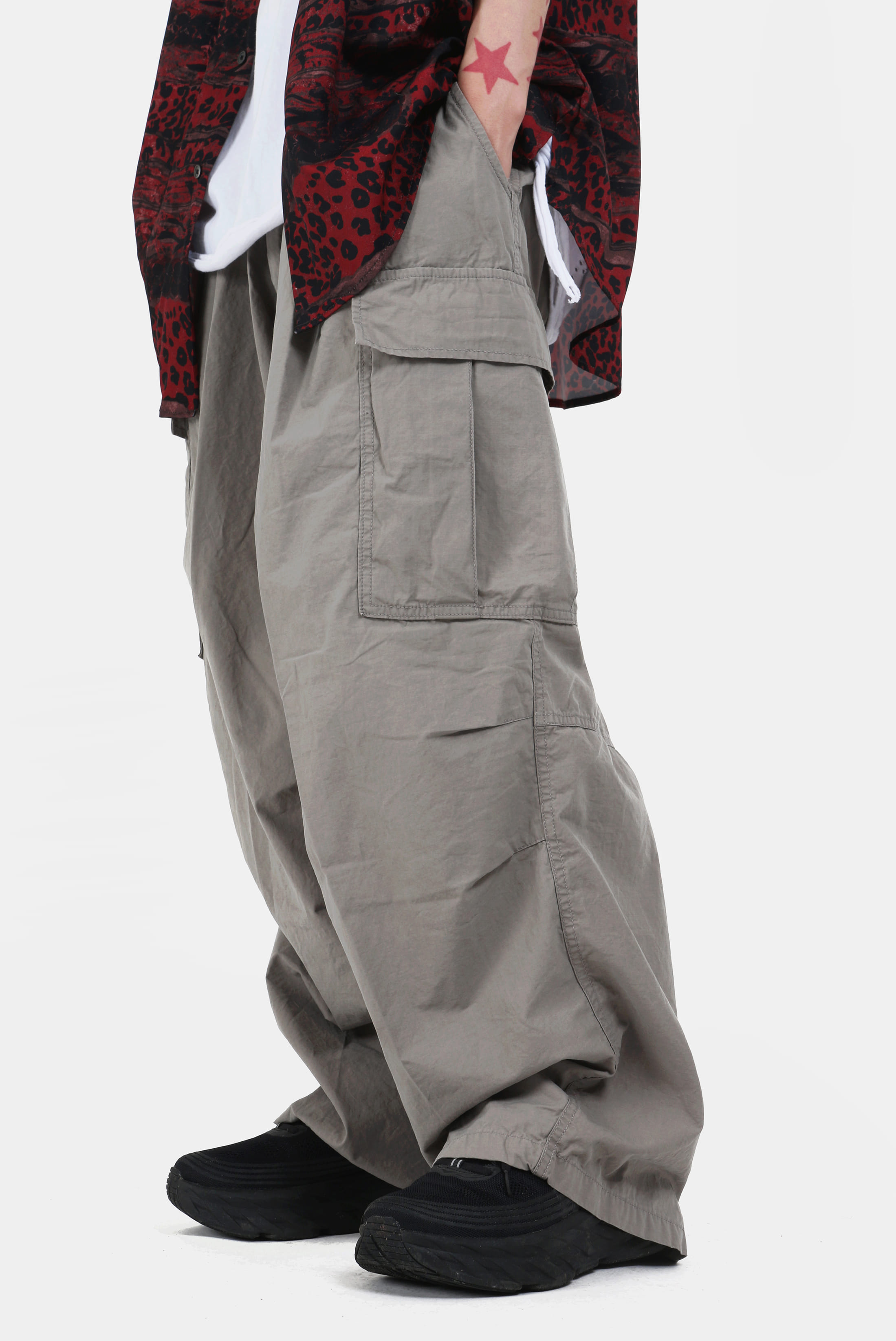 Wide_Chino Cargo_Pants