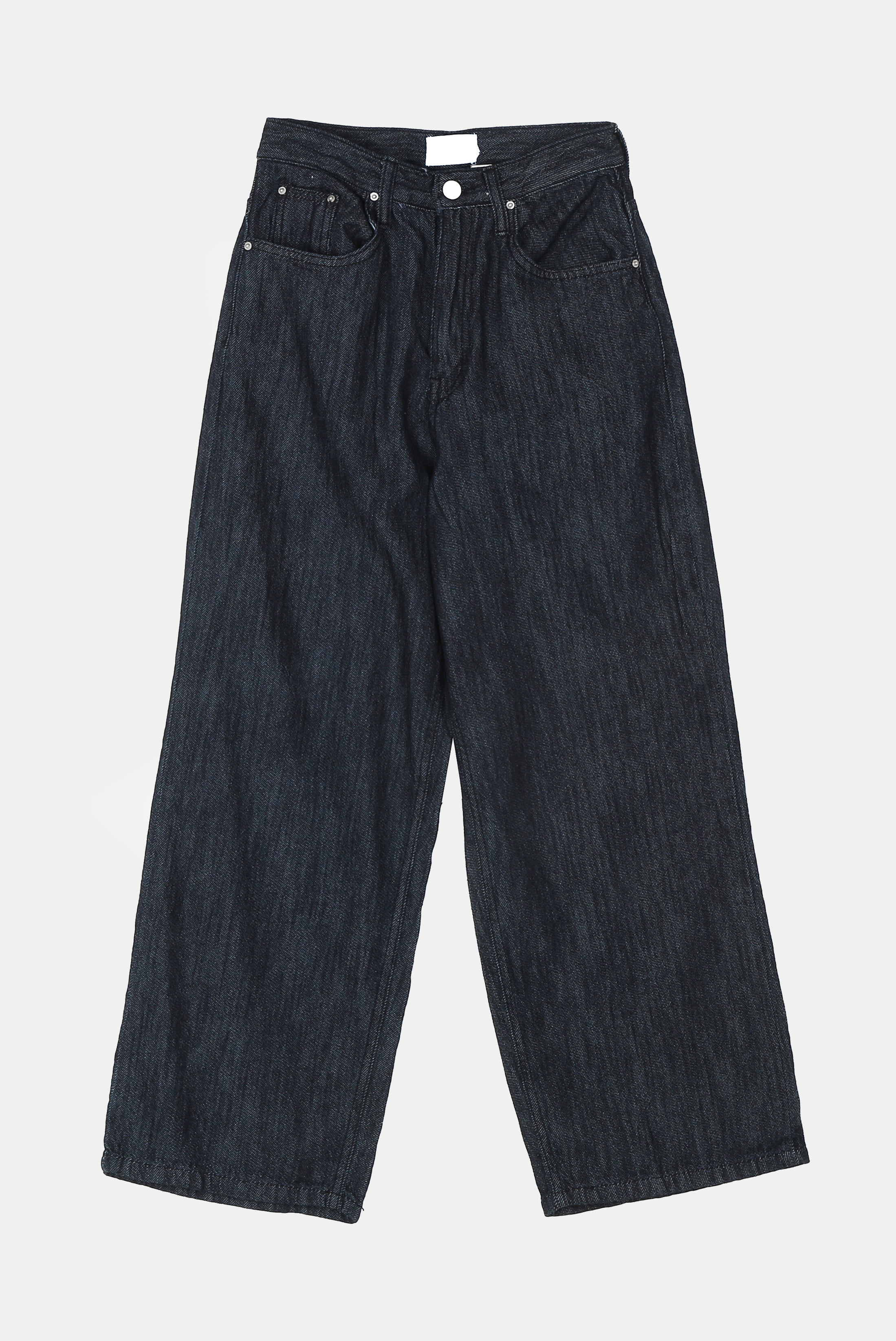 (W) Linen_Denim Wide_Pants