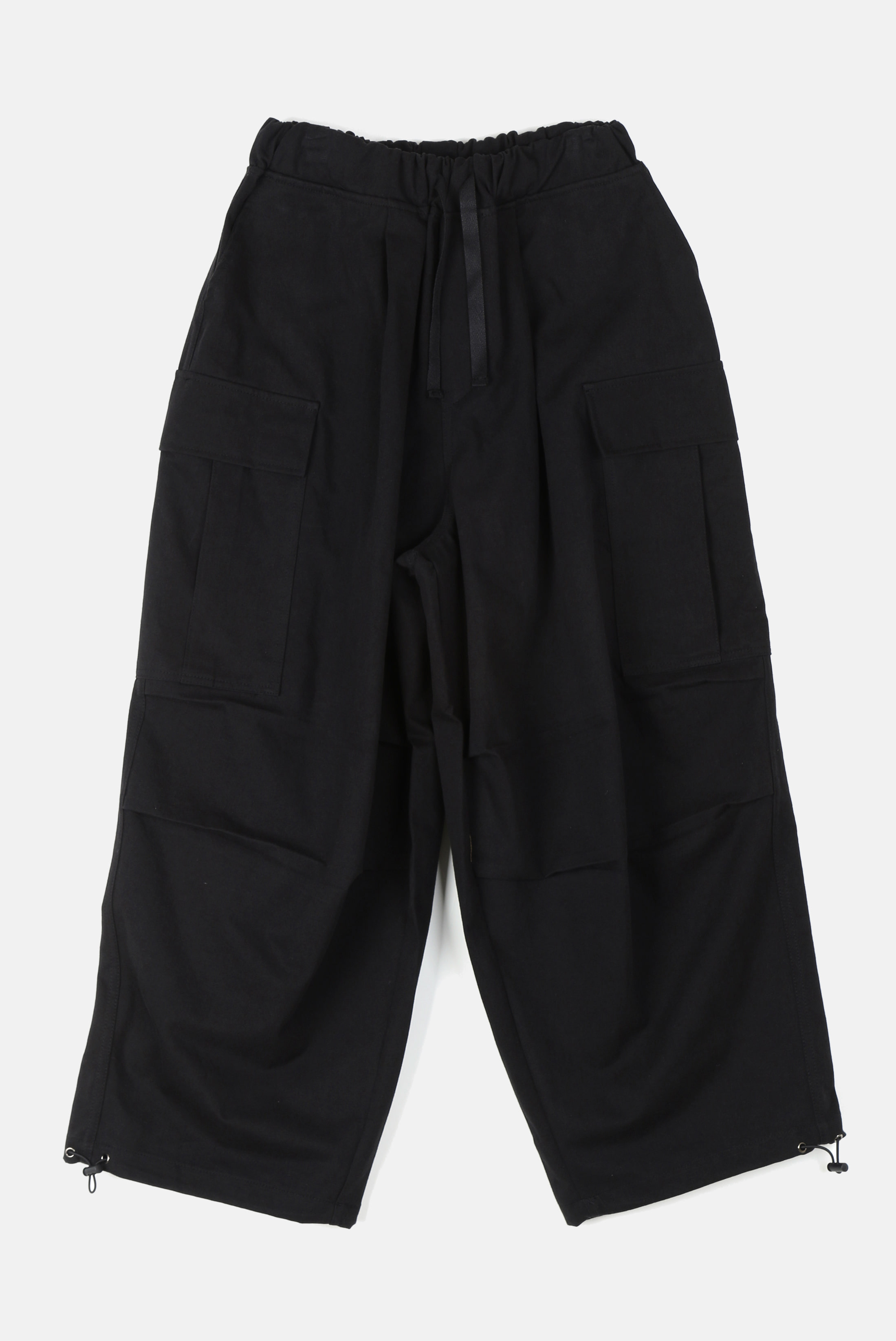 Hard_Cotton Ballon_String_Pants