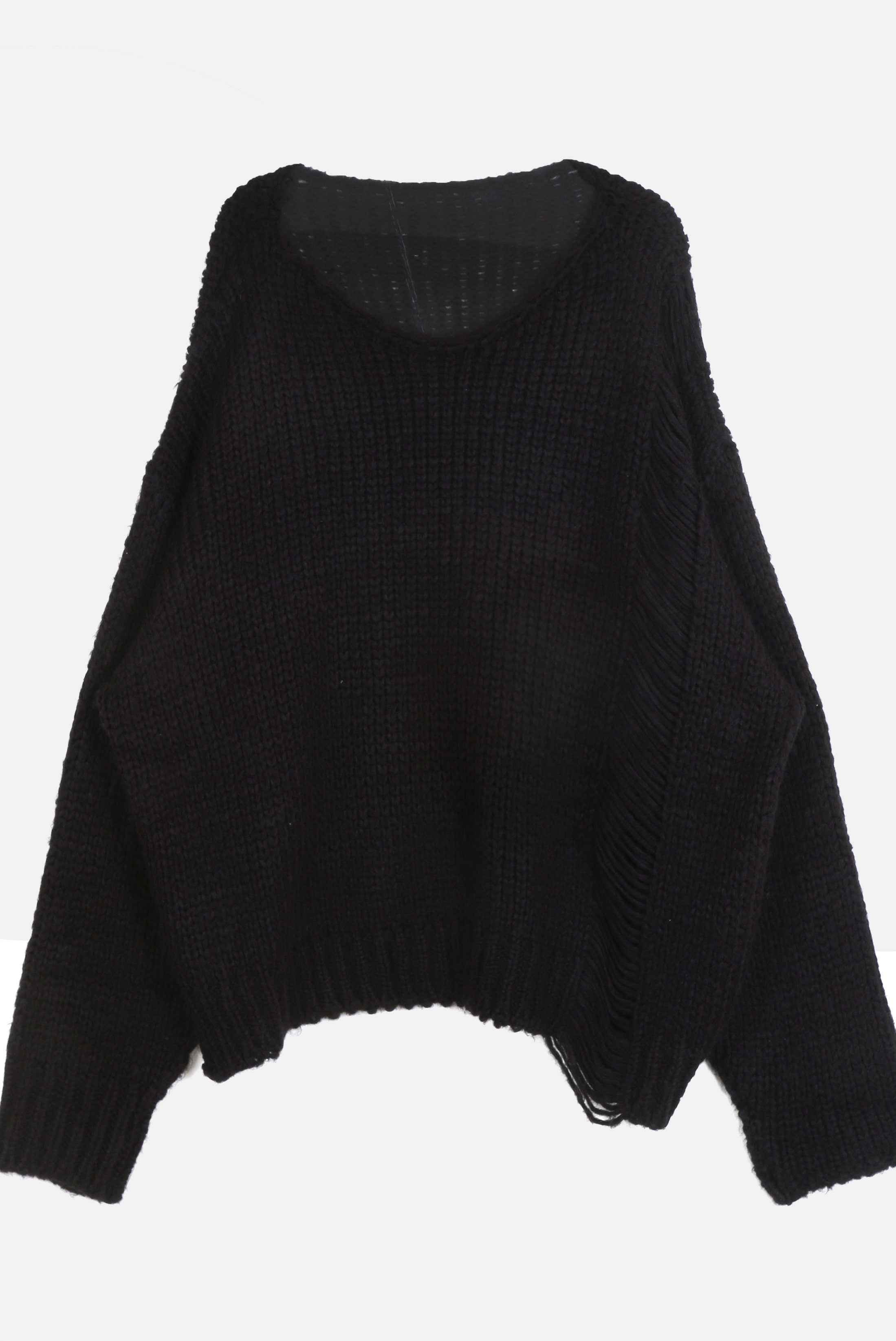 Unbalance_Length Thick Knit
