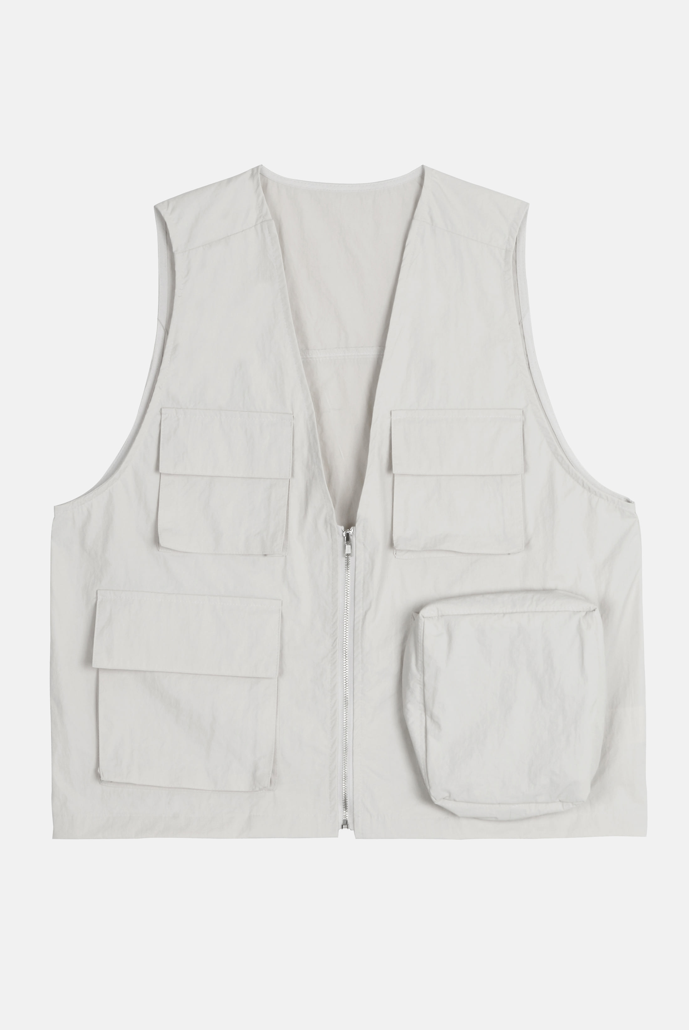 (W) Volume_Poket Nylon Vest