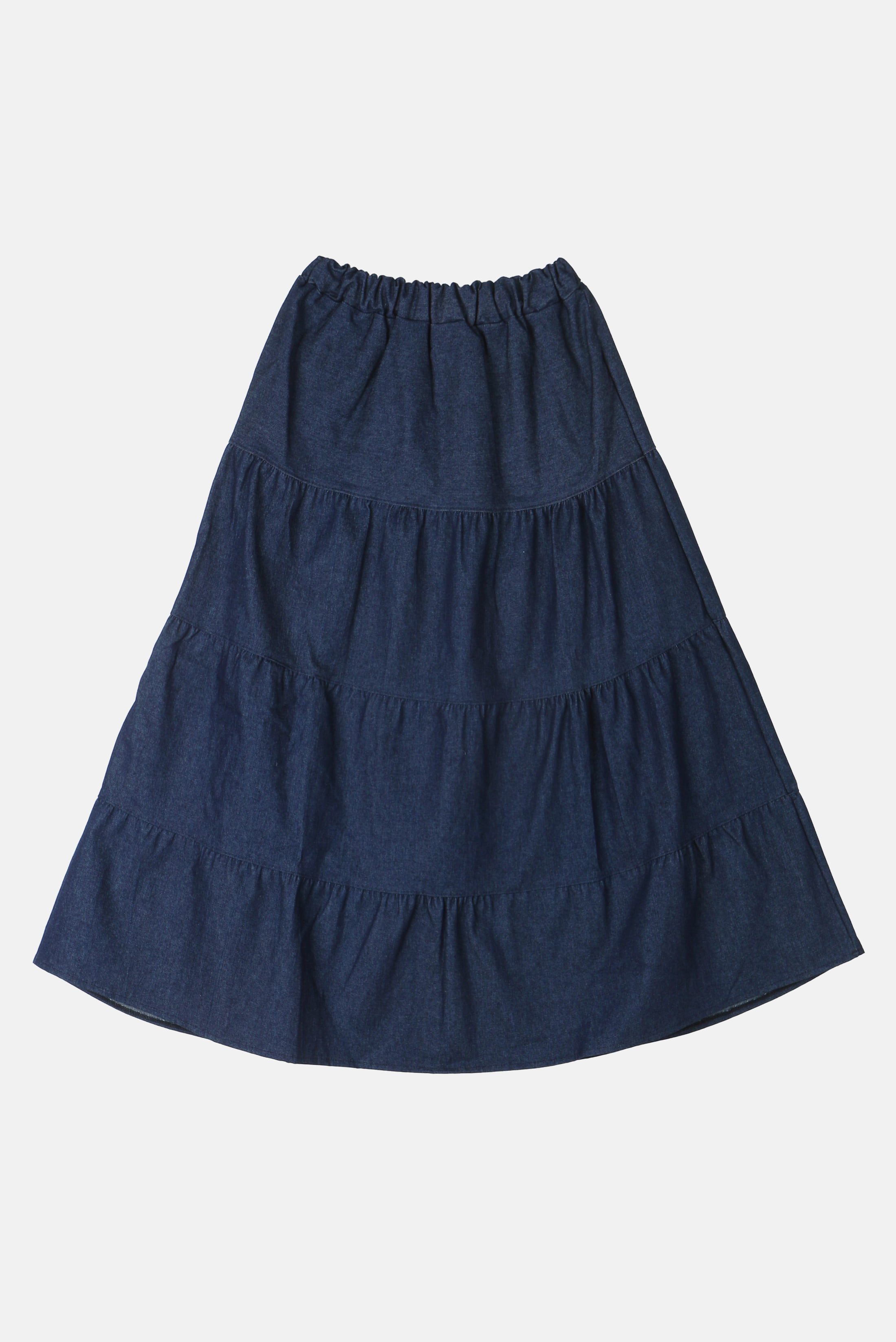 Denim_Cancan Skirt