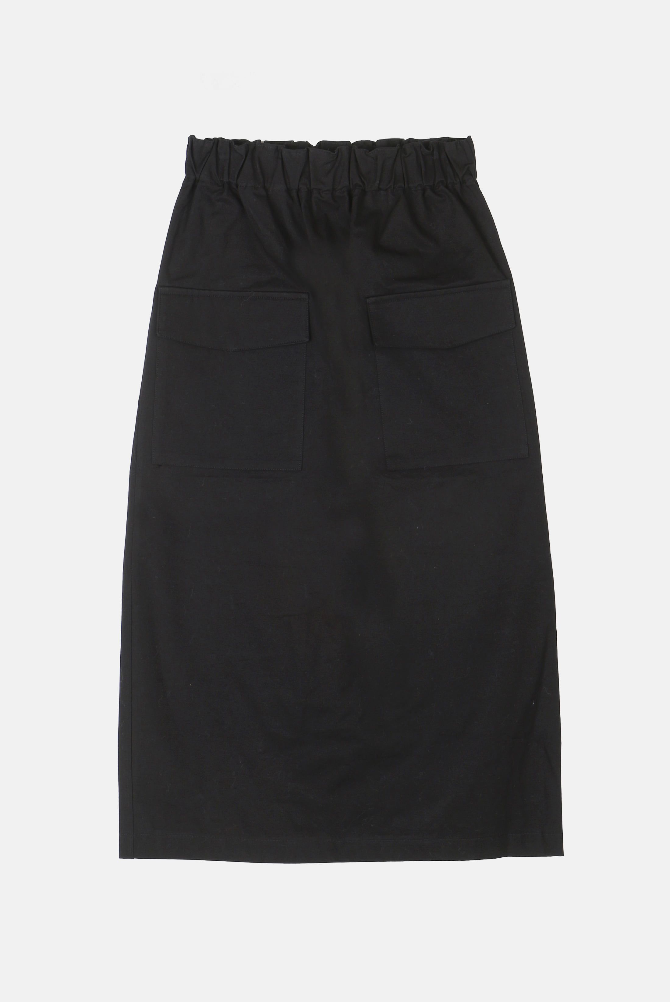 (W) Front_Poket Cotton Skirt