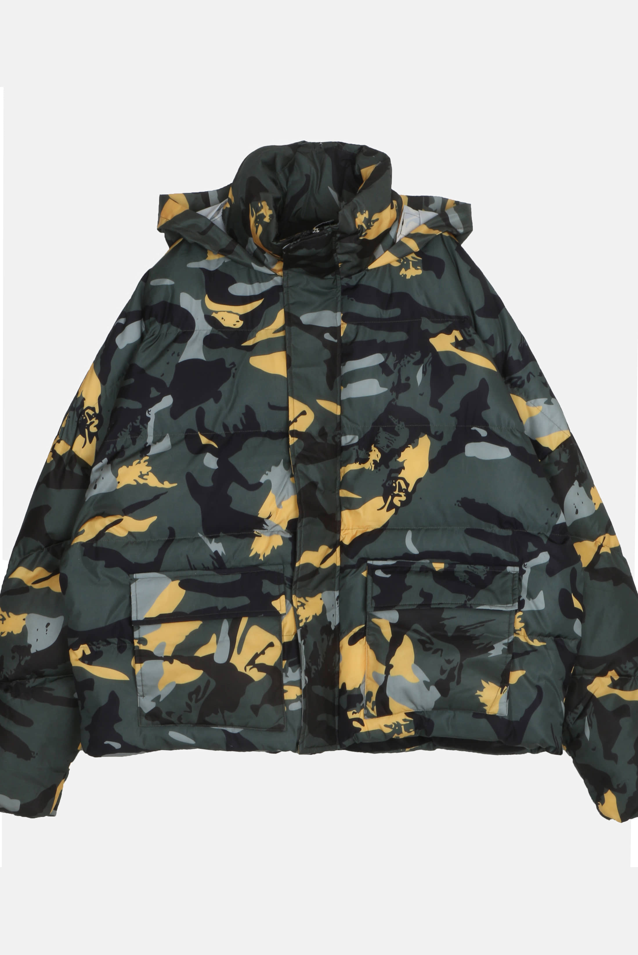 Camouflage Hide_Hoodie Padding