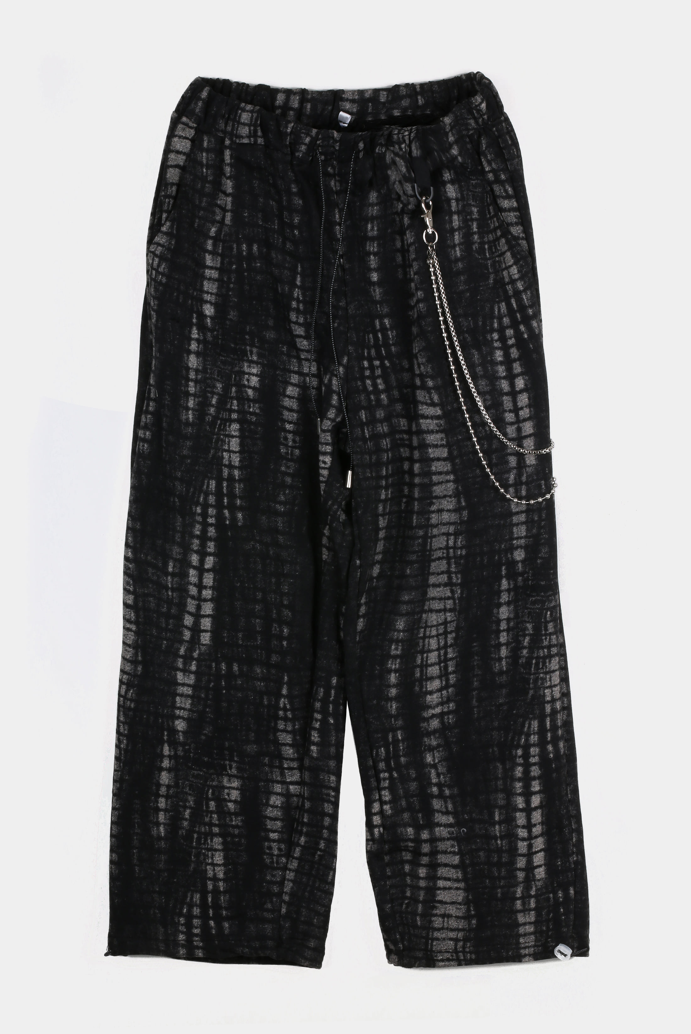Snake Tye-dye Chain Pants
