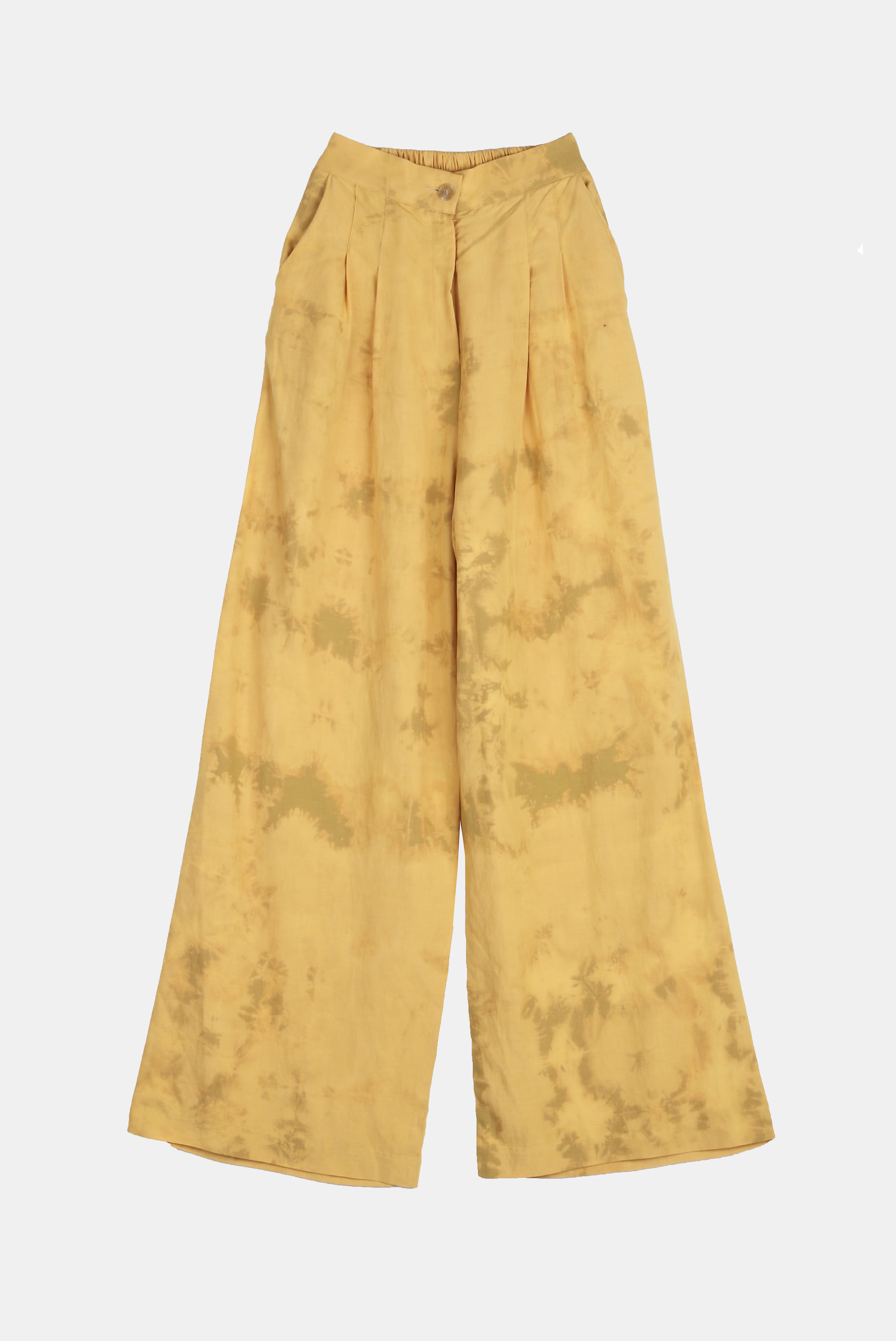 (W) Linen_Washing Tye-Dye Pants