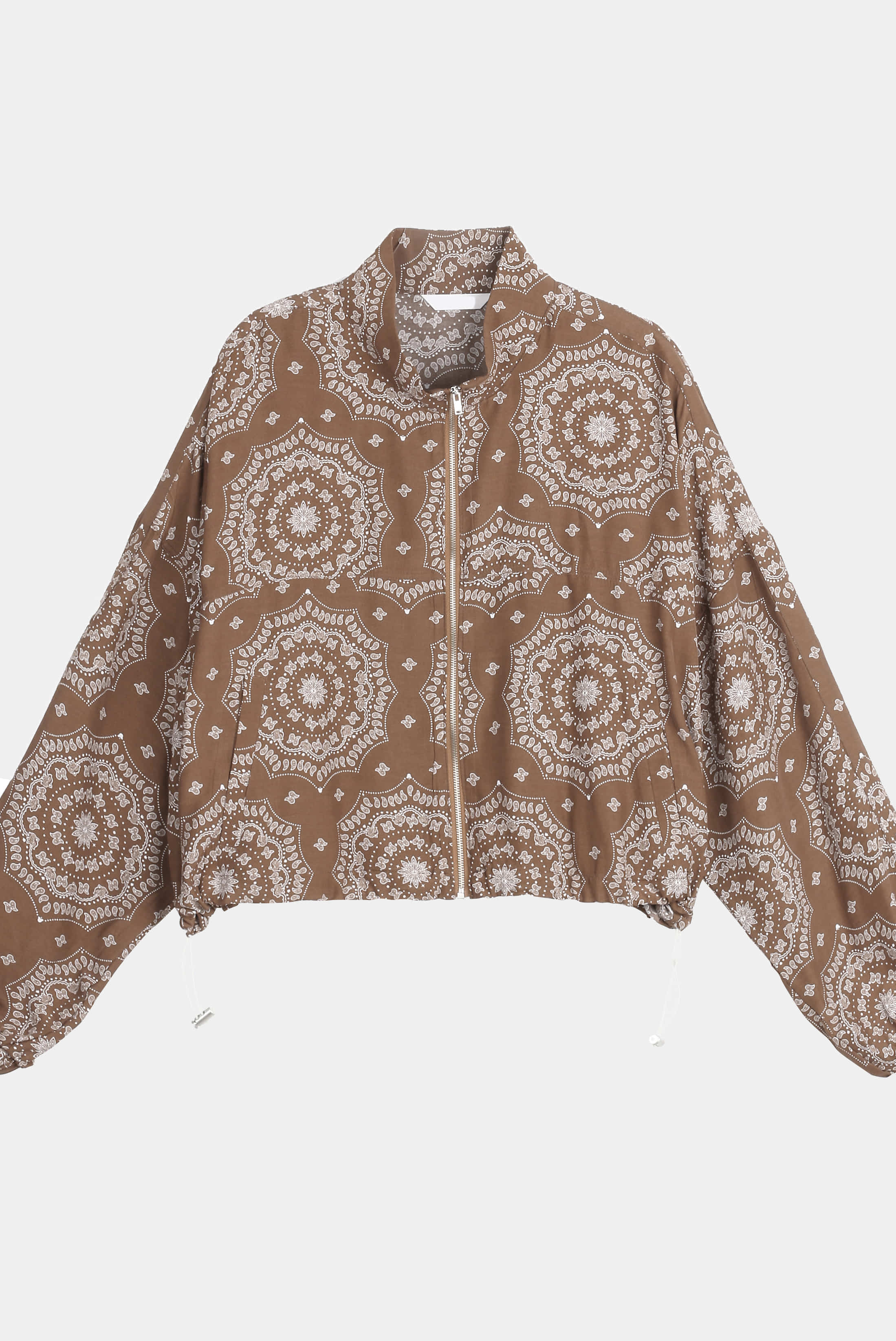 (W) Paisley Light Zip-up