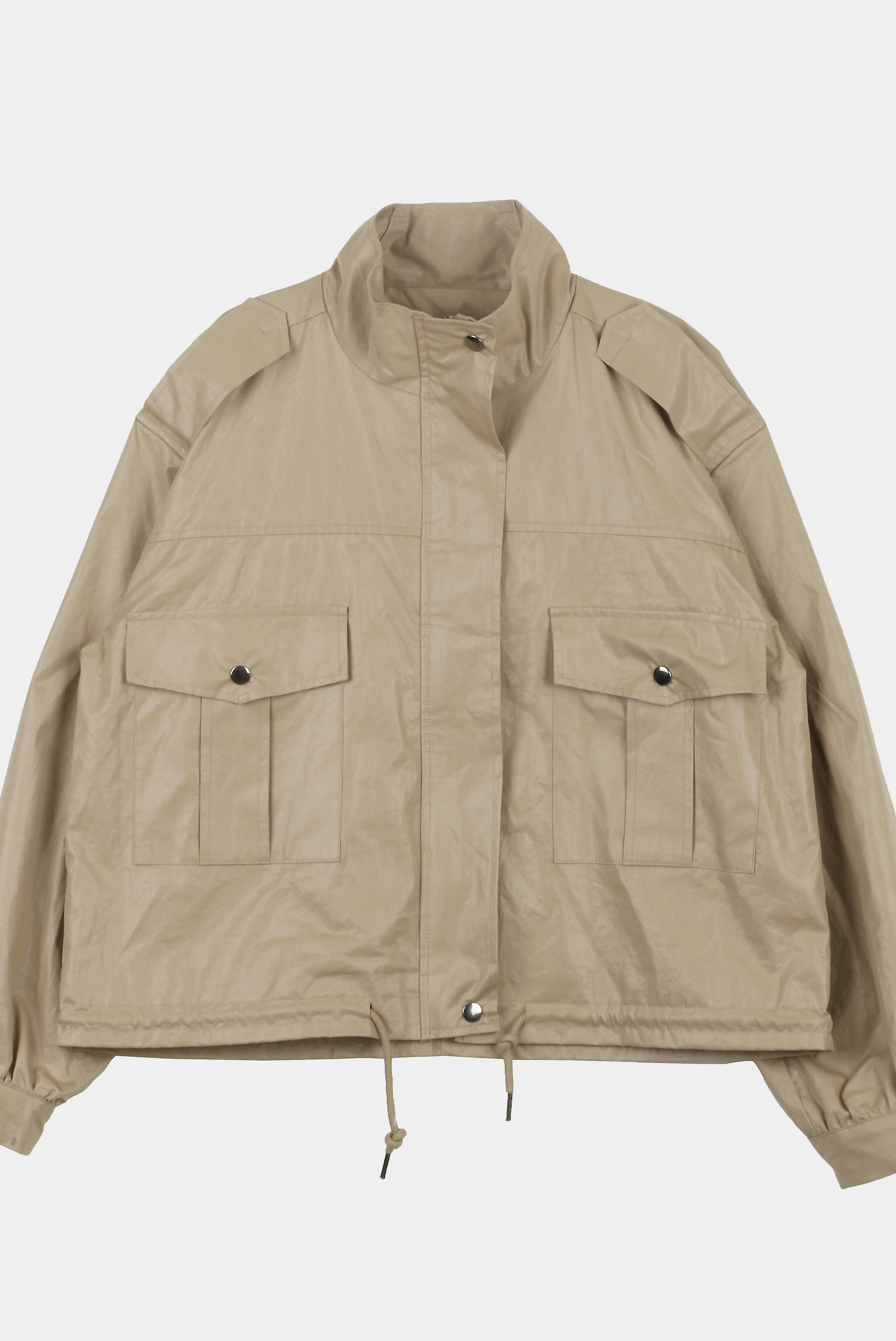 (W) Light_Cottied Field_Jacket