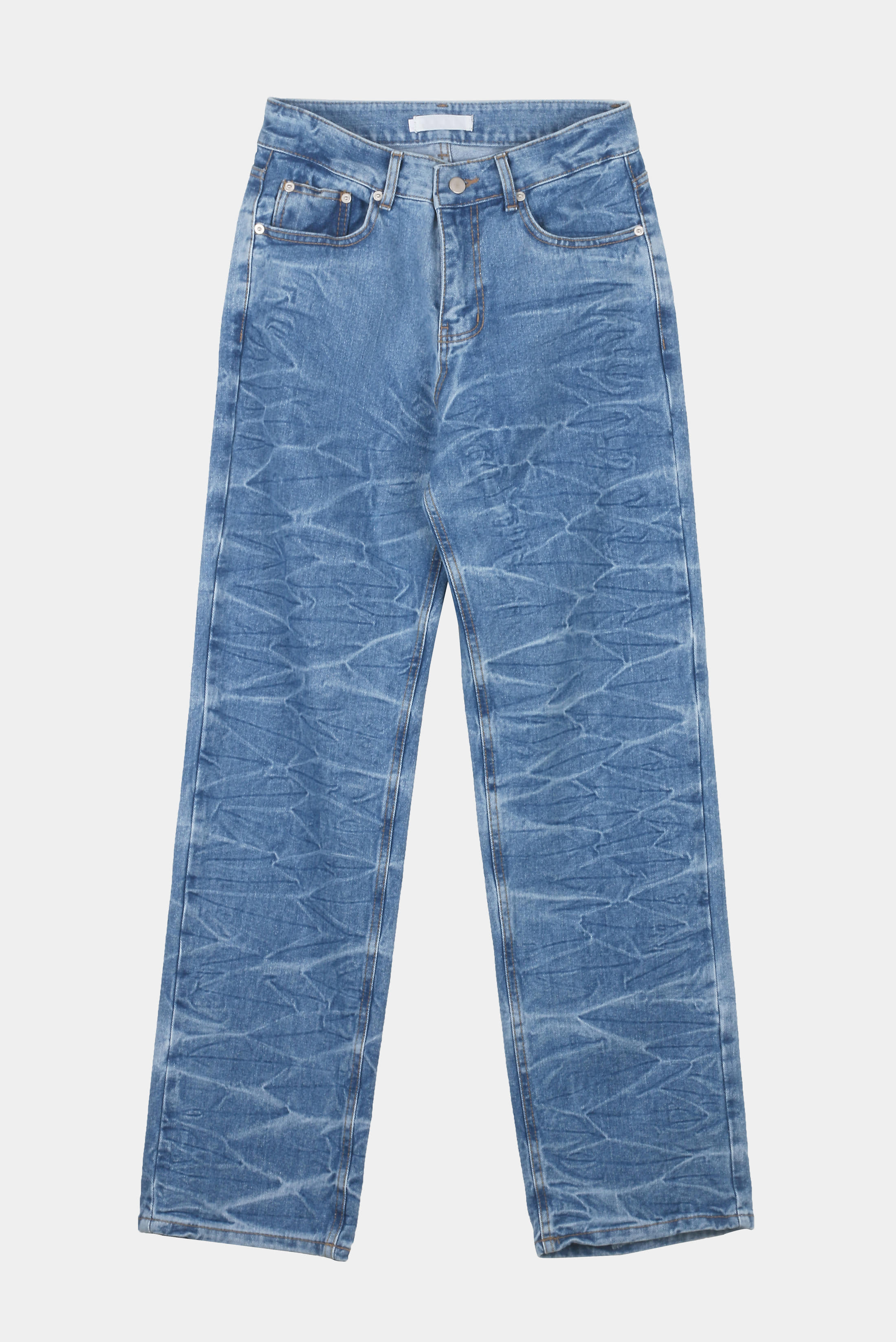 Wave_Crack Denim_Pants