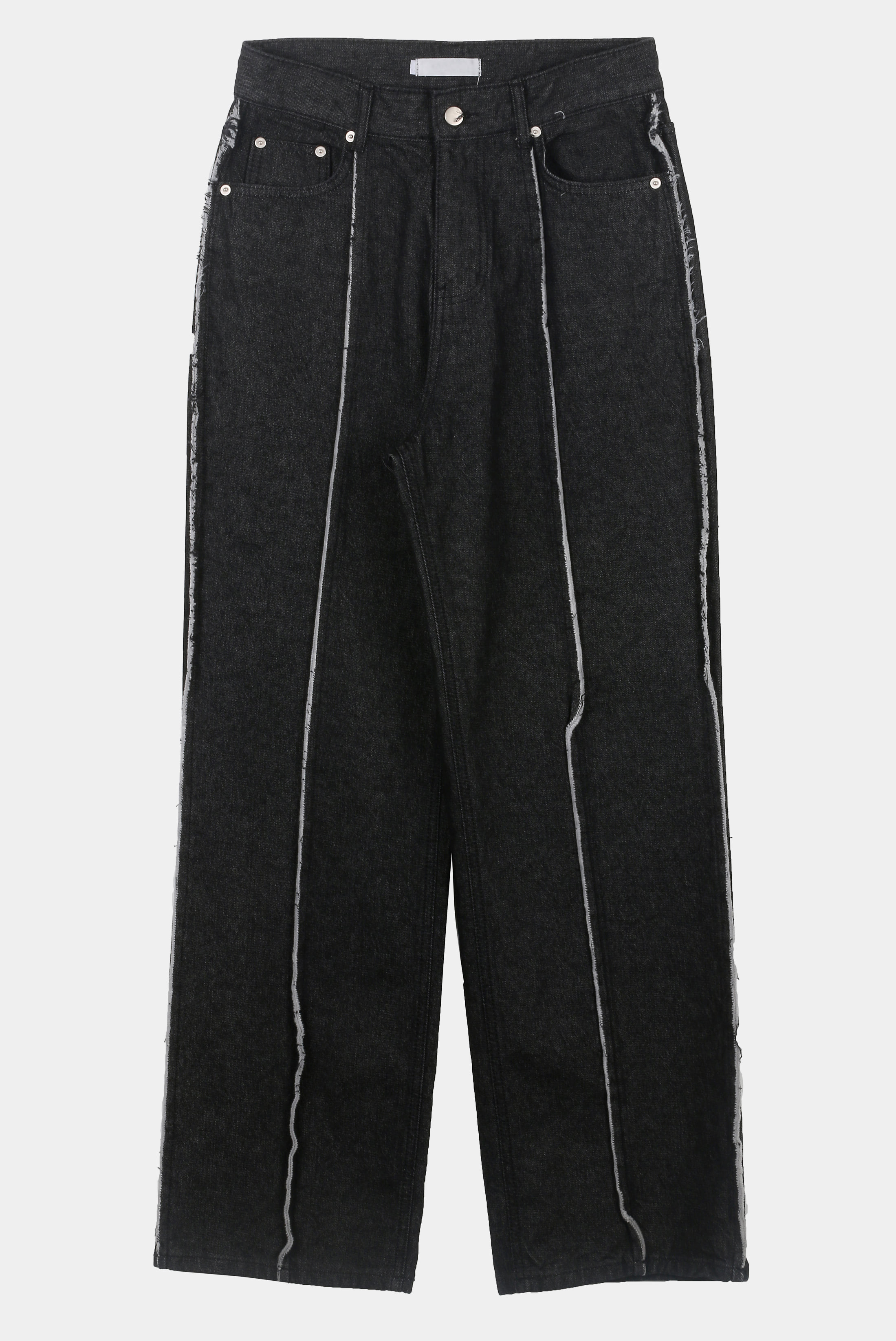 Raw_Edge Line Wide_pants