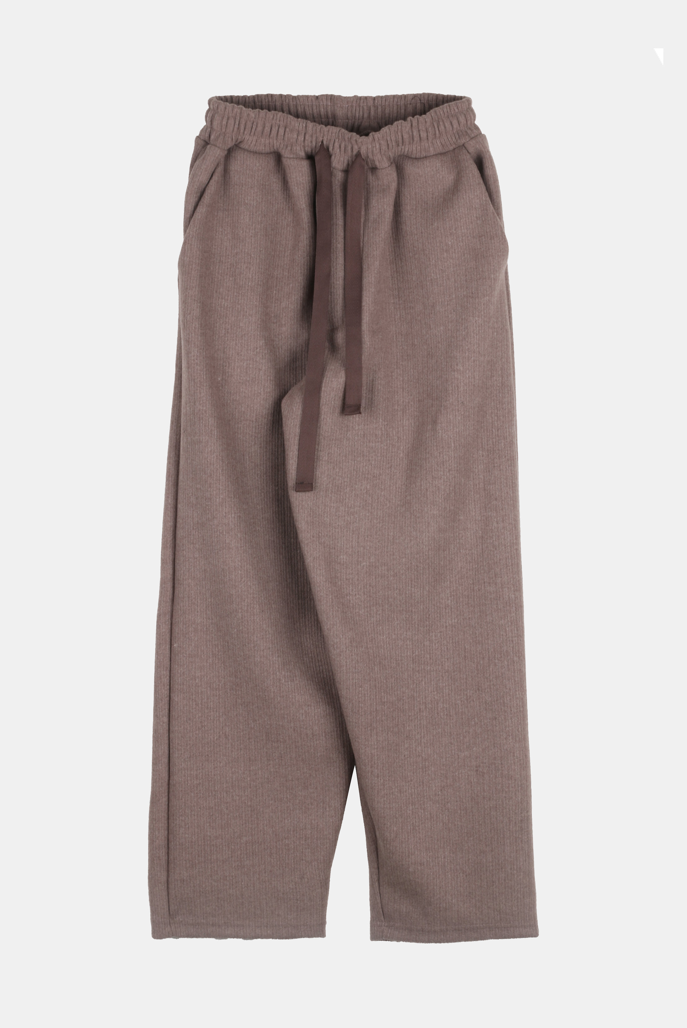 Knitwear Wide_String Pants