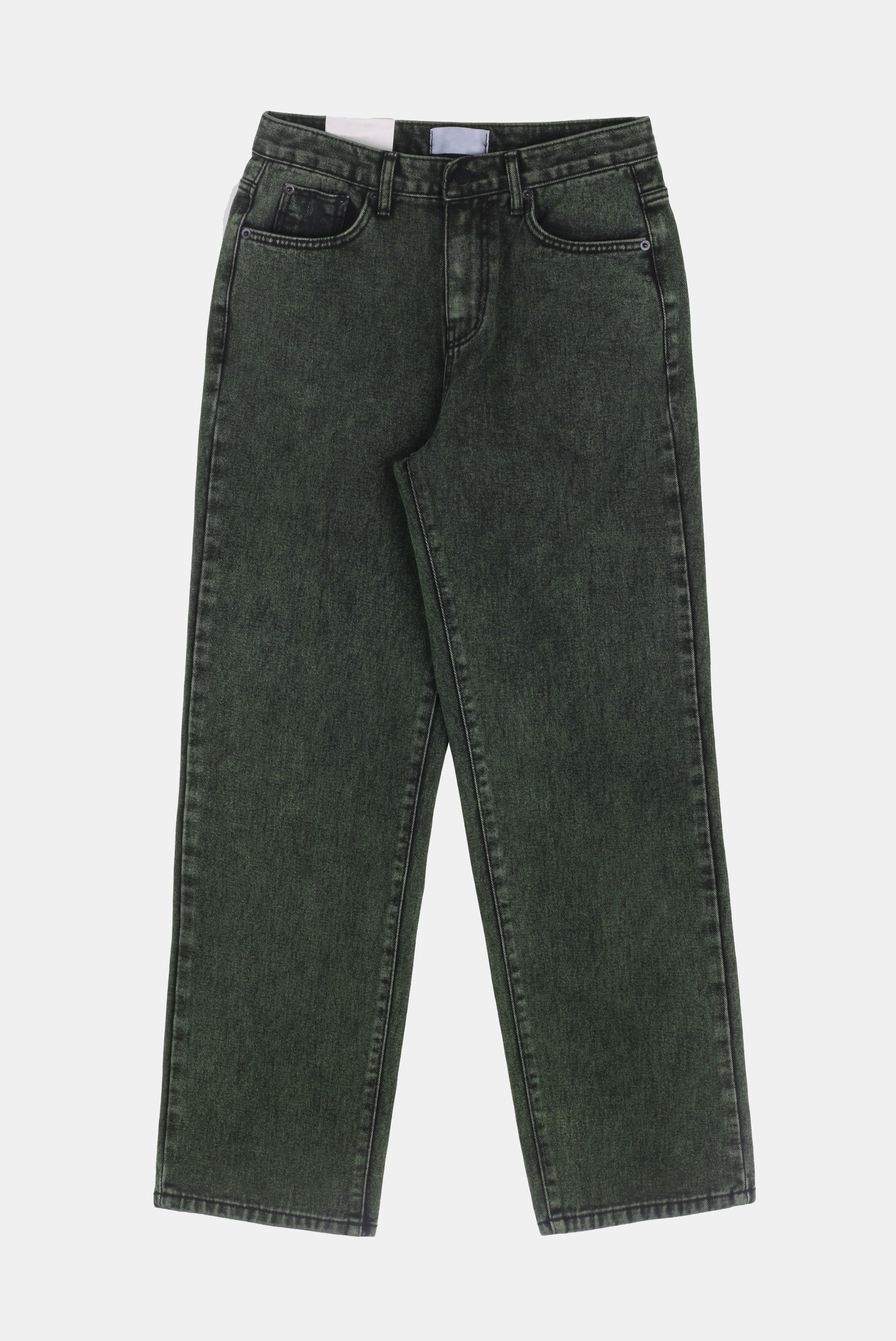 Khaki_Dying Denim_Pants