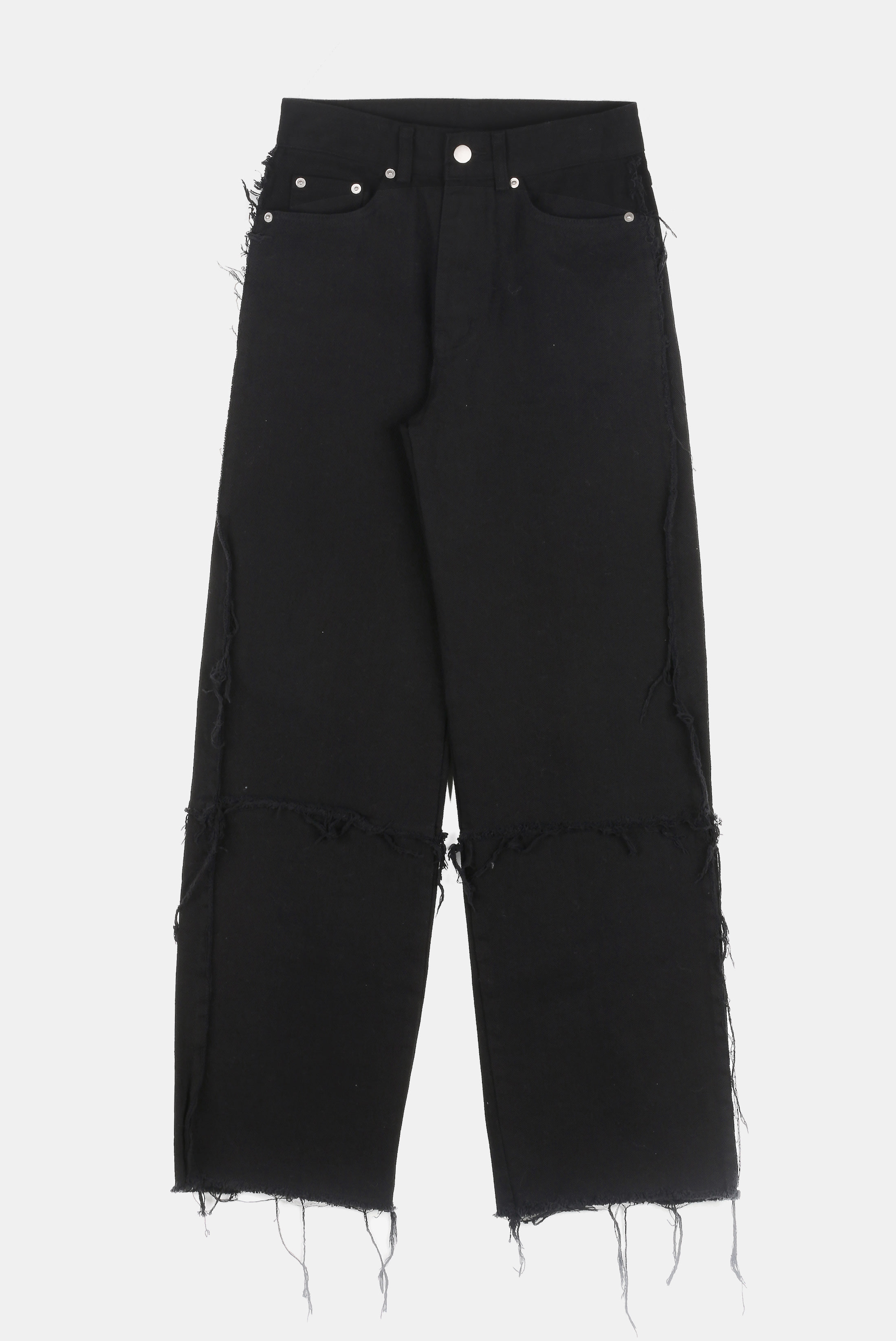 (W) Dissection Raw_Edge Pants