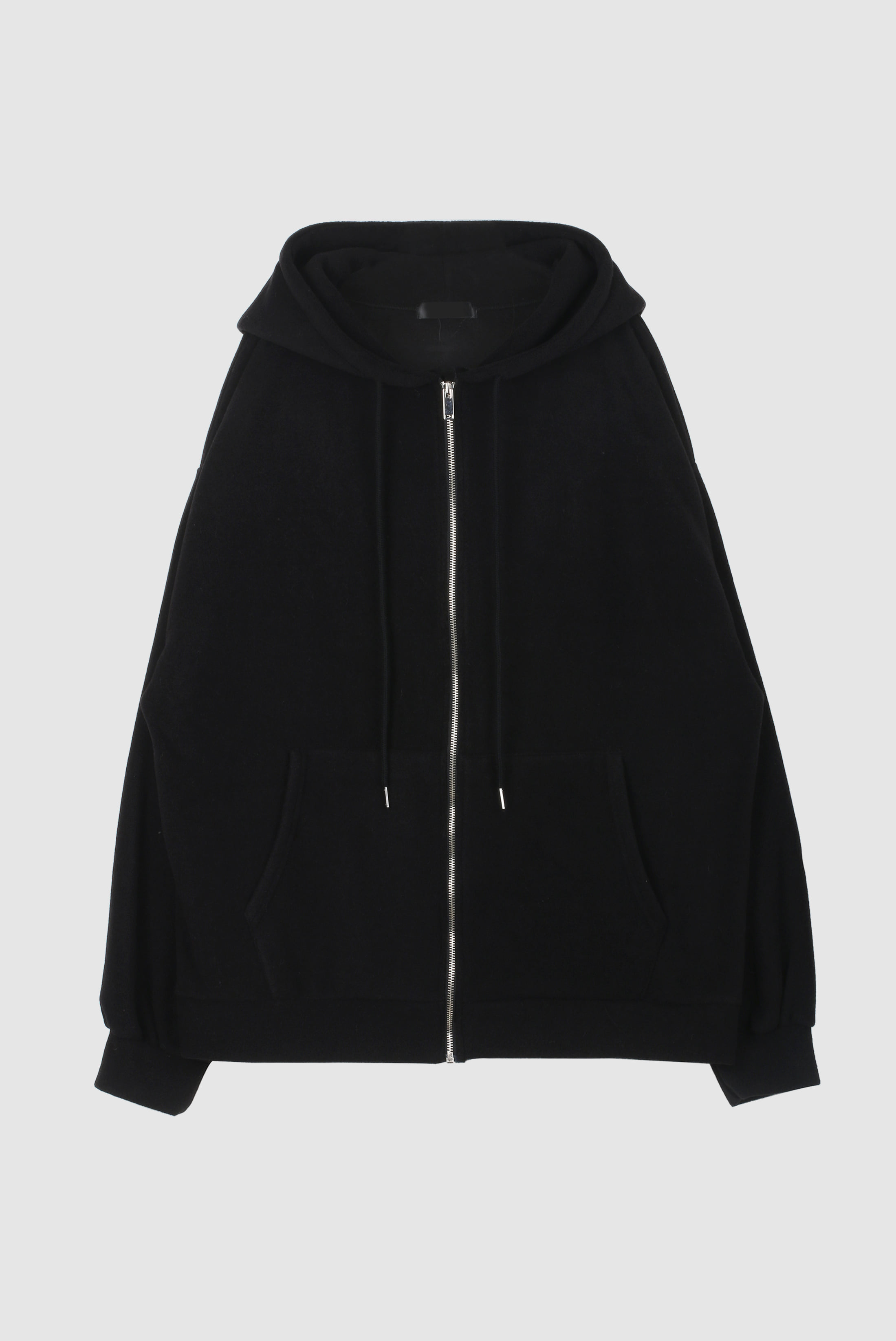 Fleece Hood Zip-up