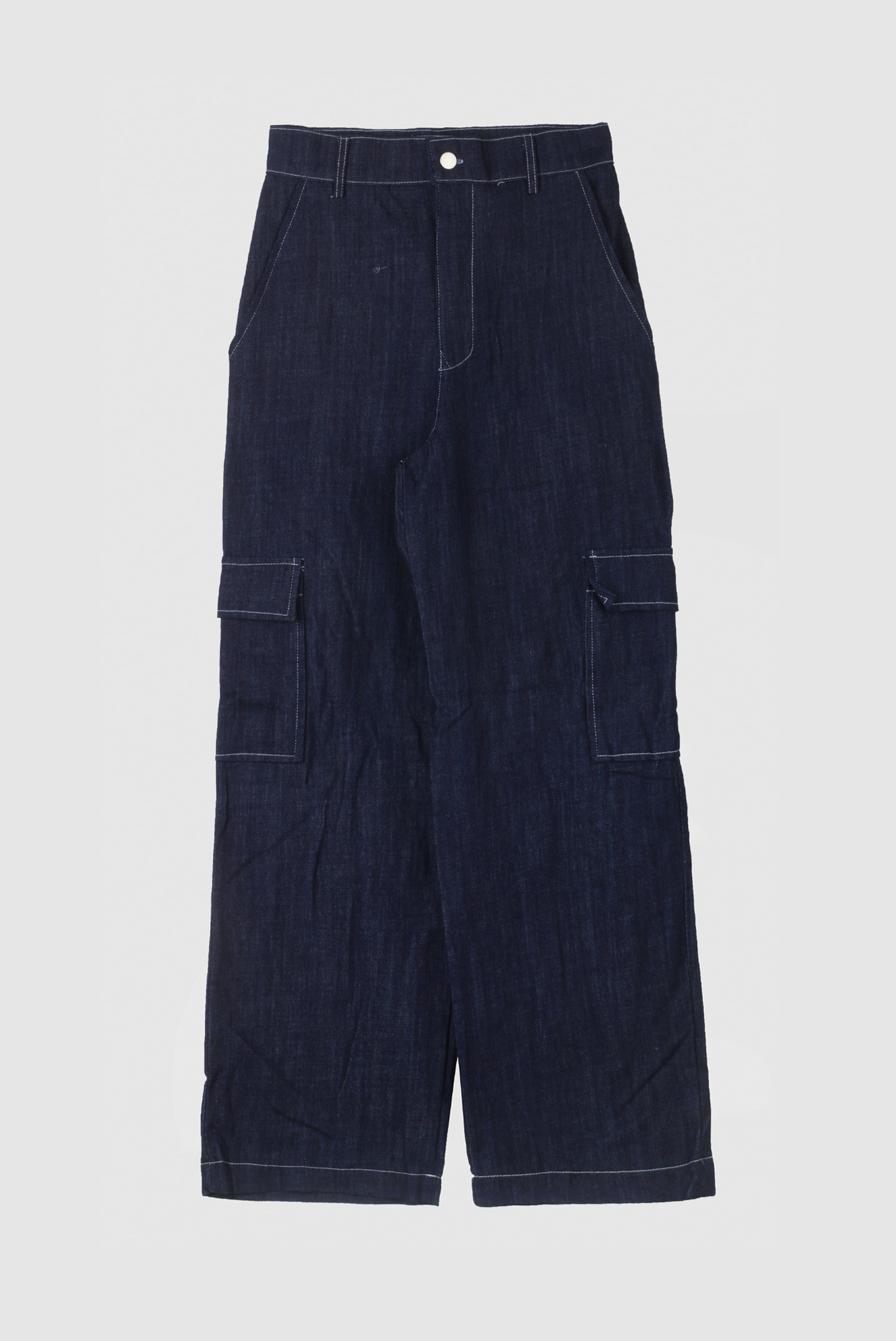 Stitch Cargo_Denim Pant