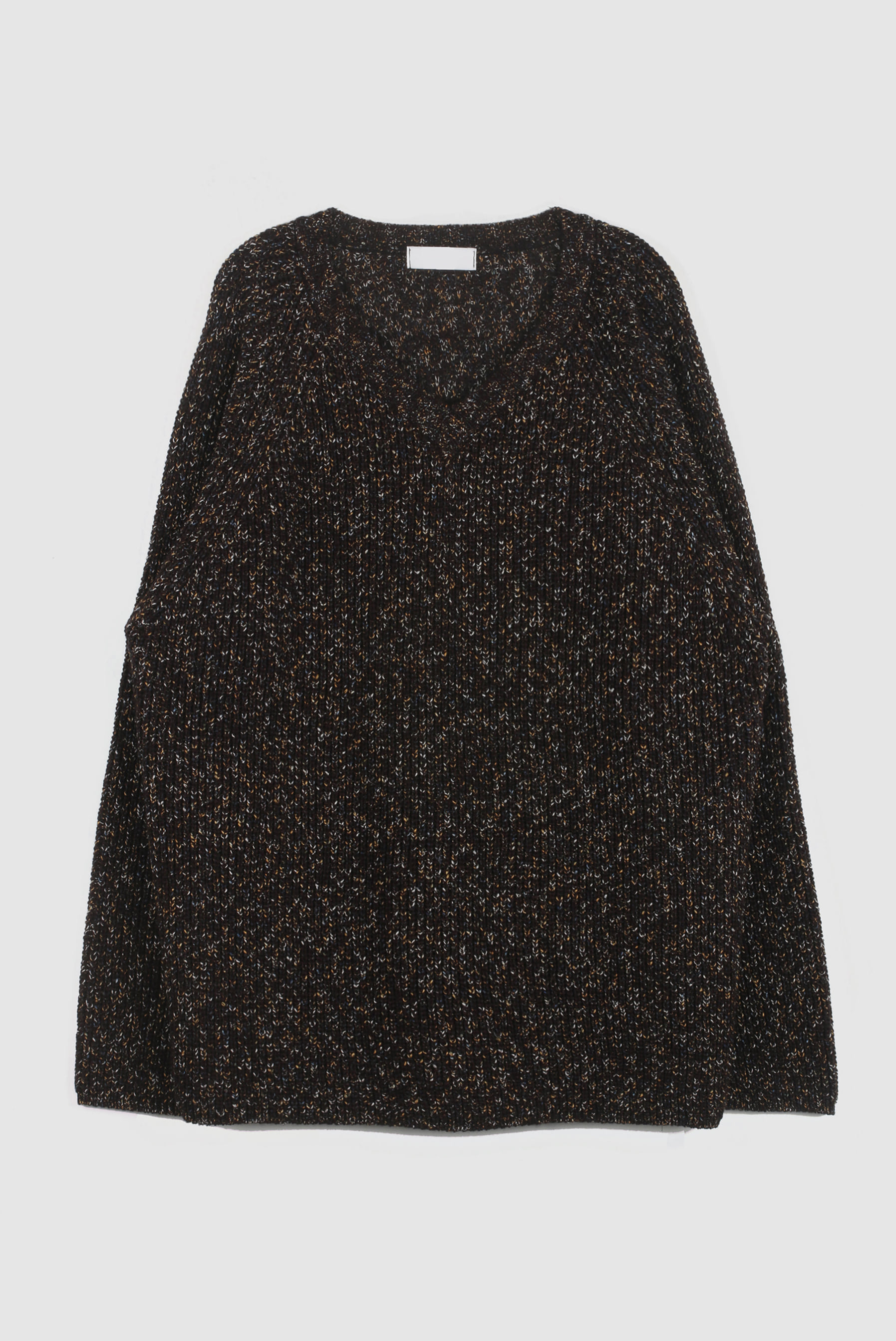Point_Mix V_Neck Knit