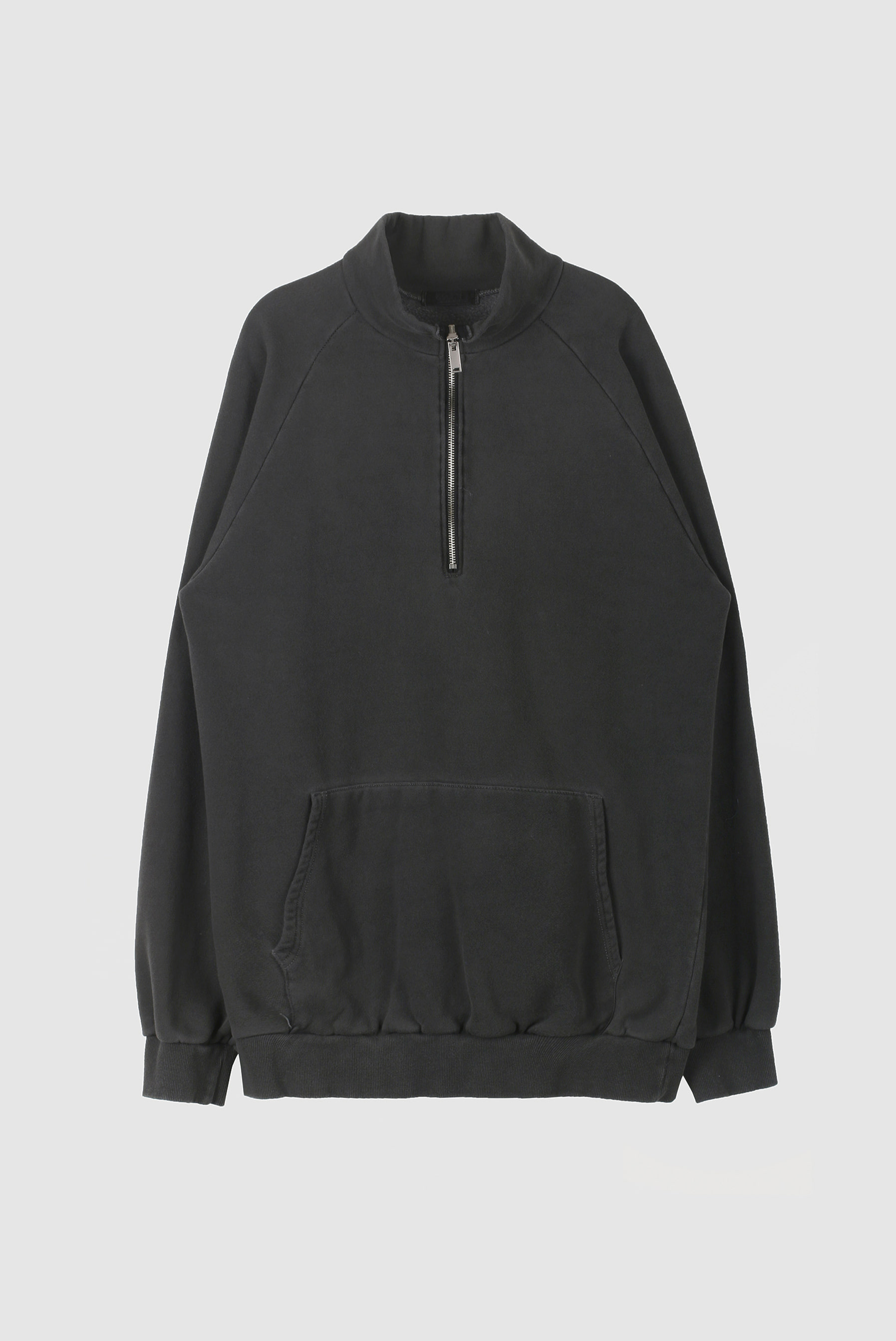 Runa_Washing Half Zip-up