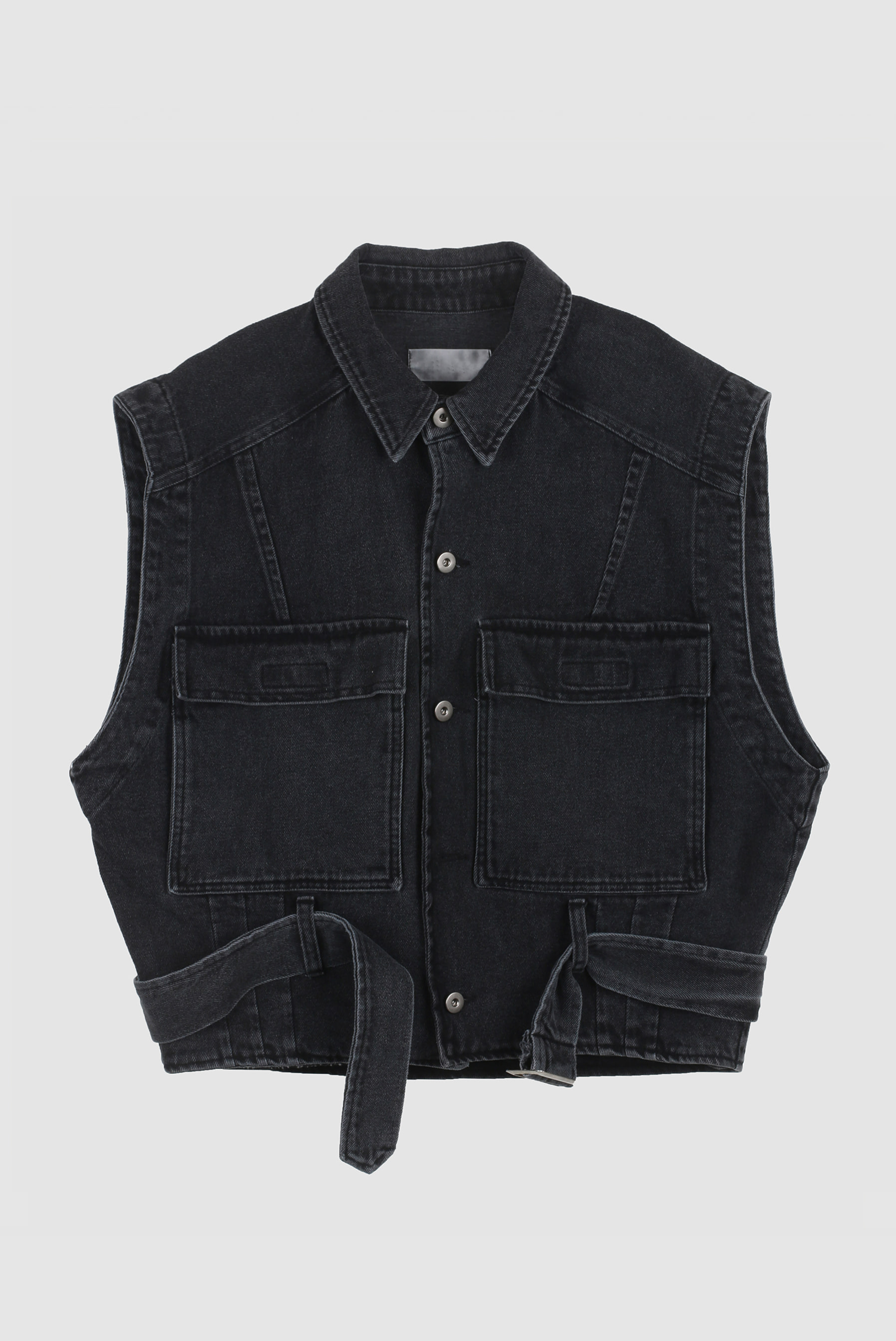 High_End Denim_Vest Jacket