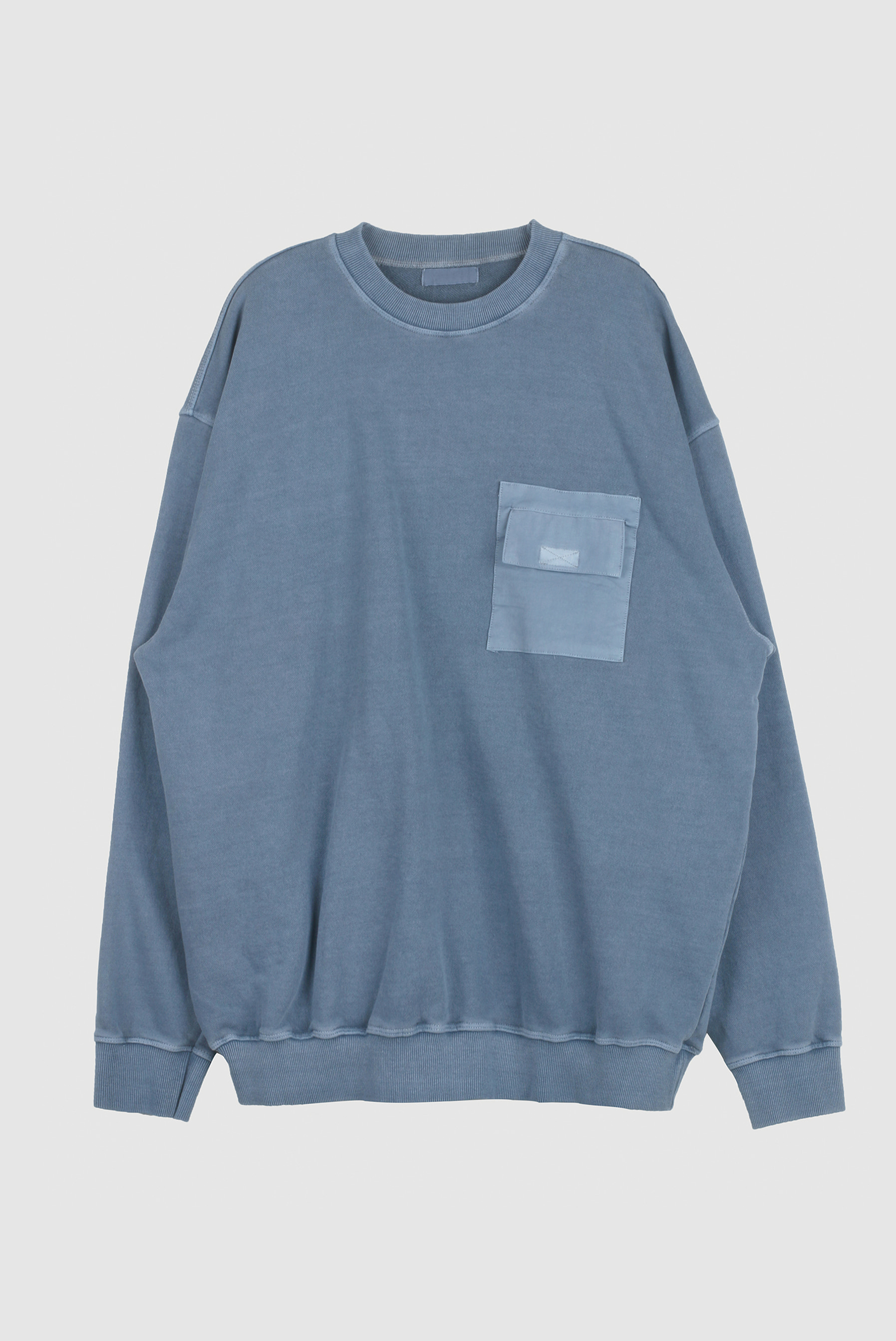Pigment_Washing Poket Sweatshirts