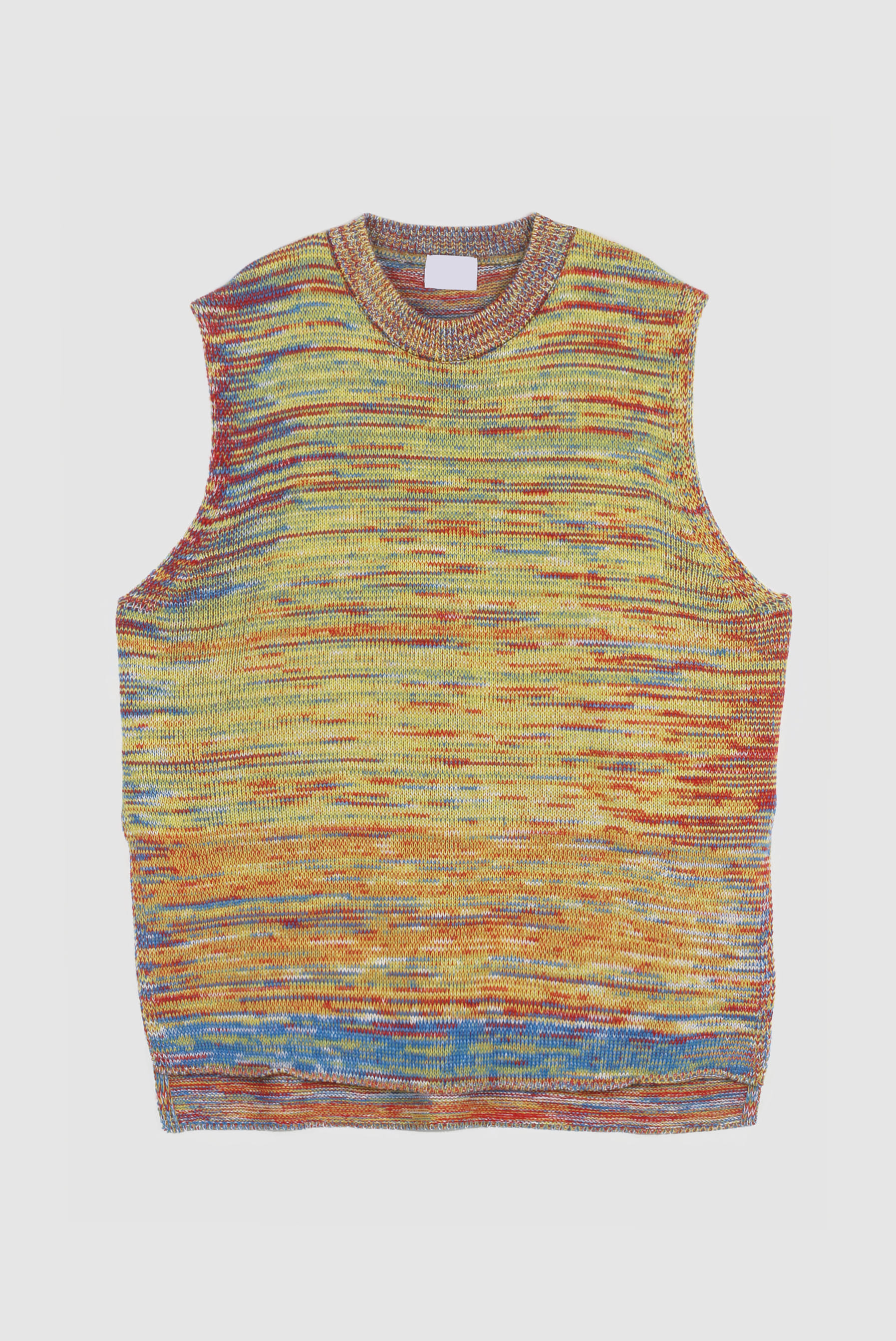 Mix_Color Knit_Vest