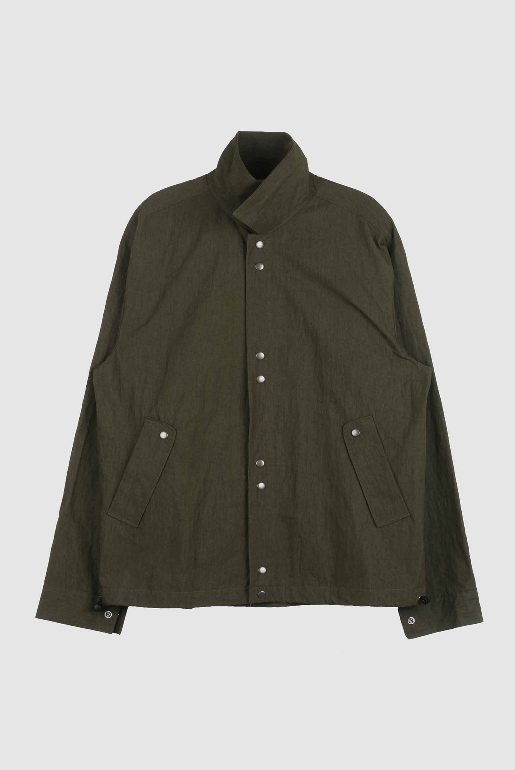 Button_String Nylon_Jacket