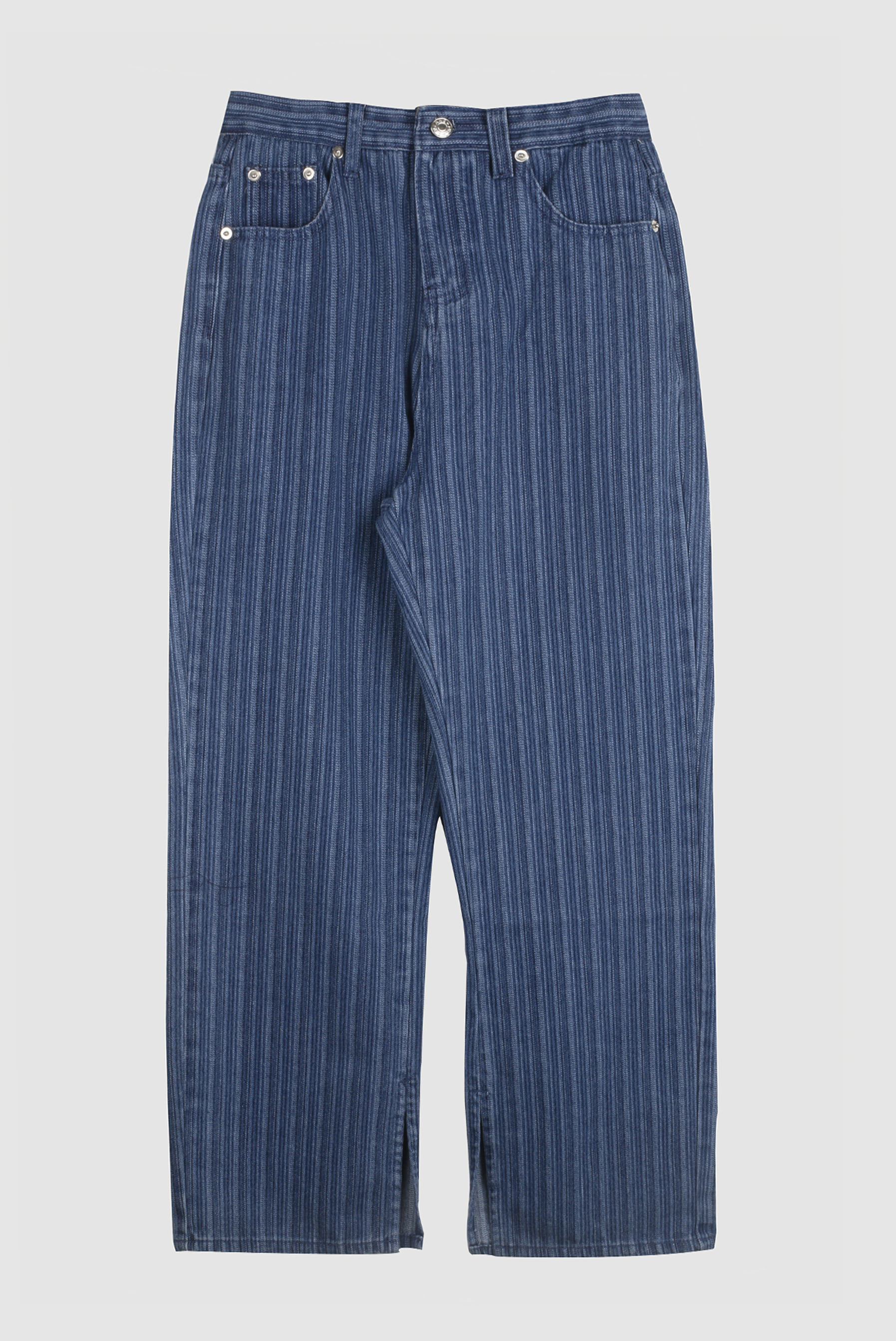 Pin_Stripe Denim_Pants