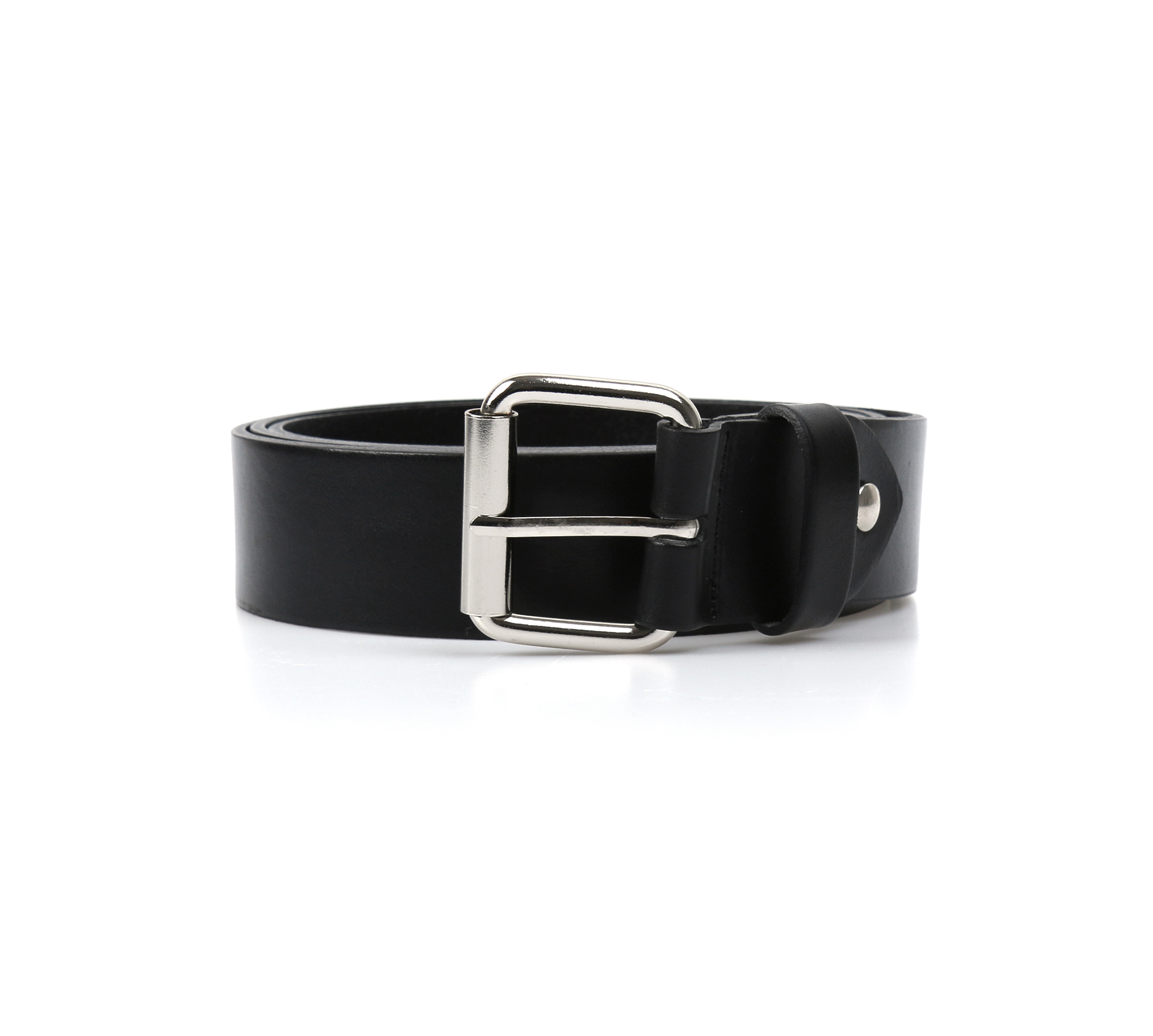 Long Thick Leather Belt
