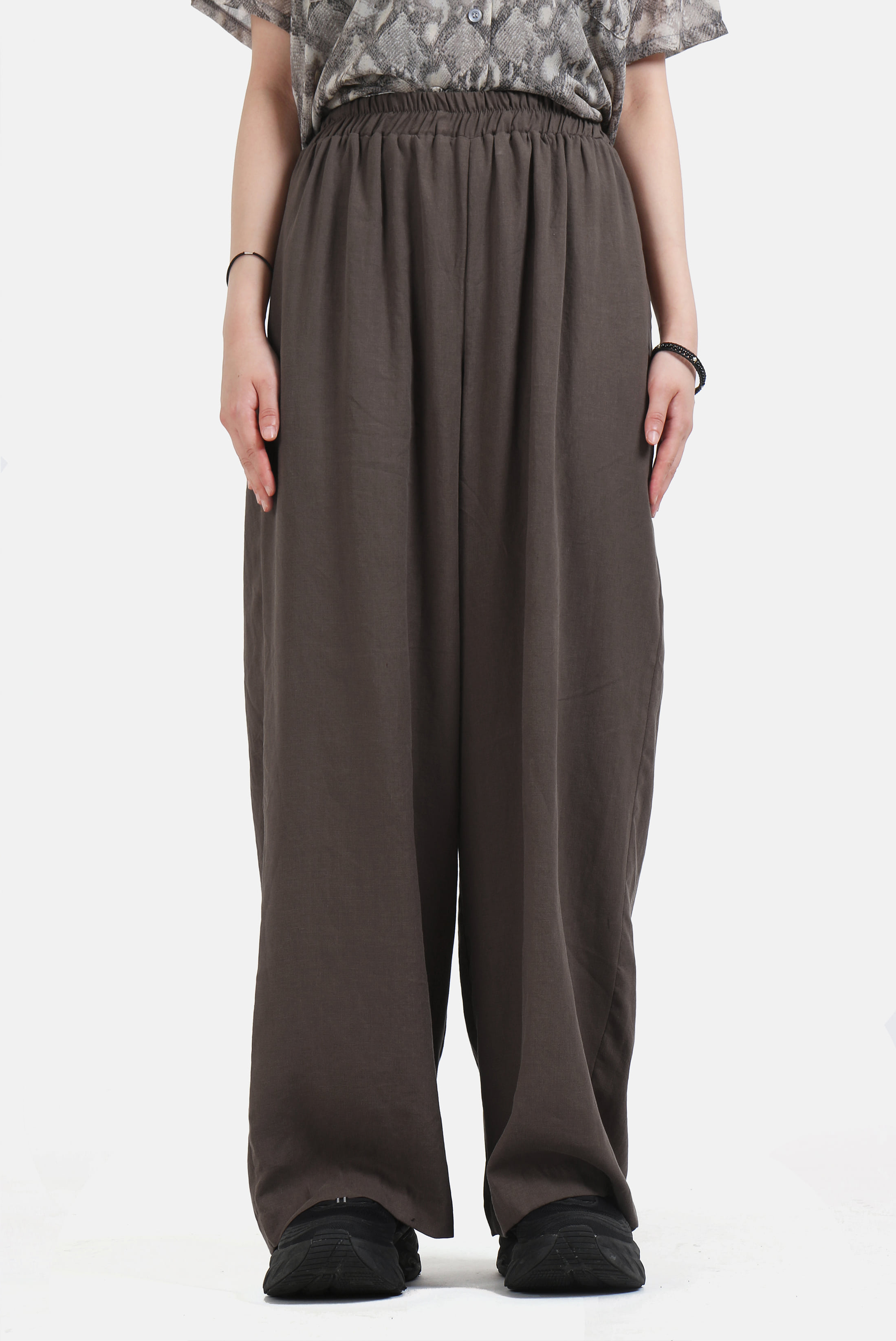 (W) Tencel_Linen Bending_Pants