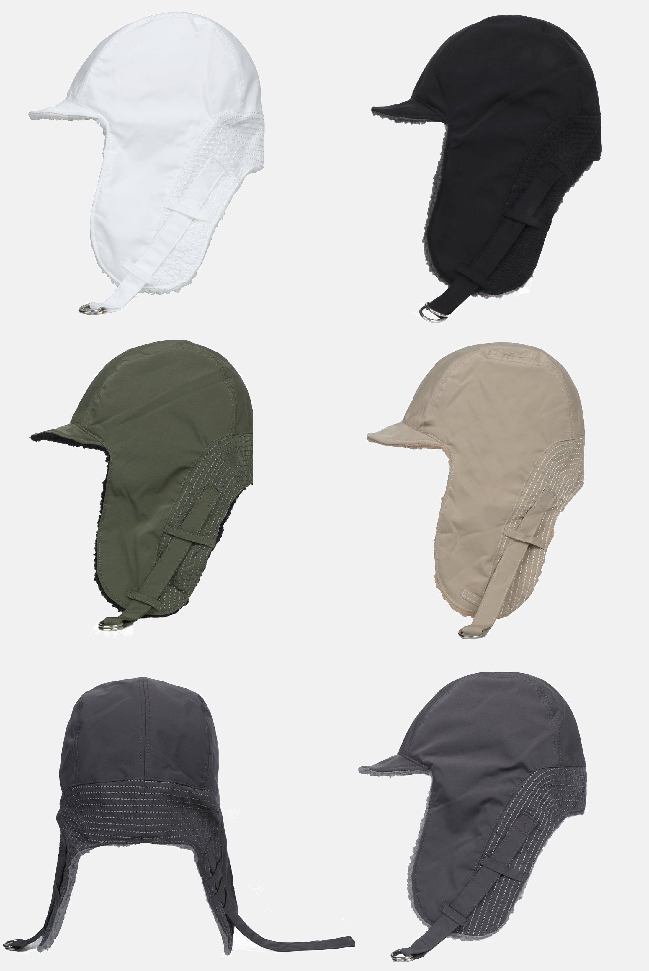 Fleece_Nylon Ear_plug Hat
