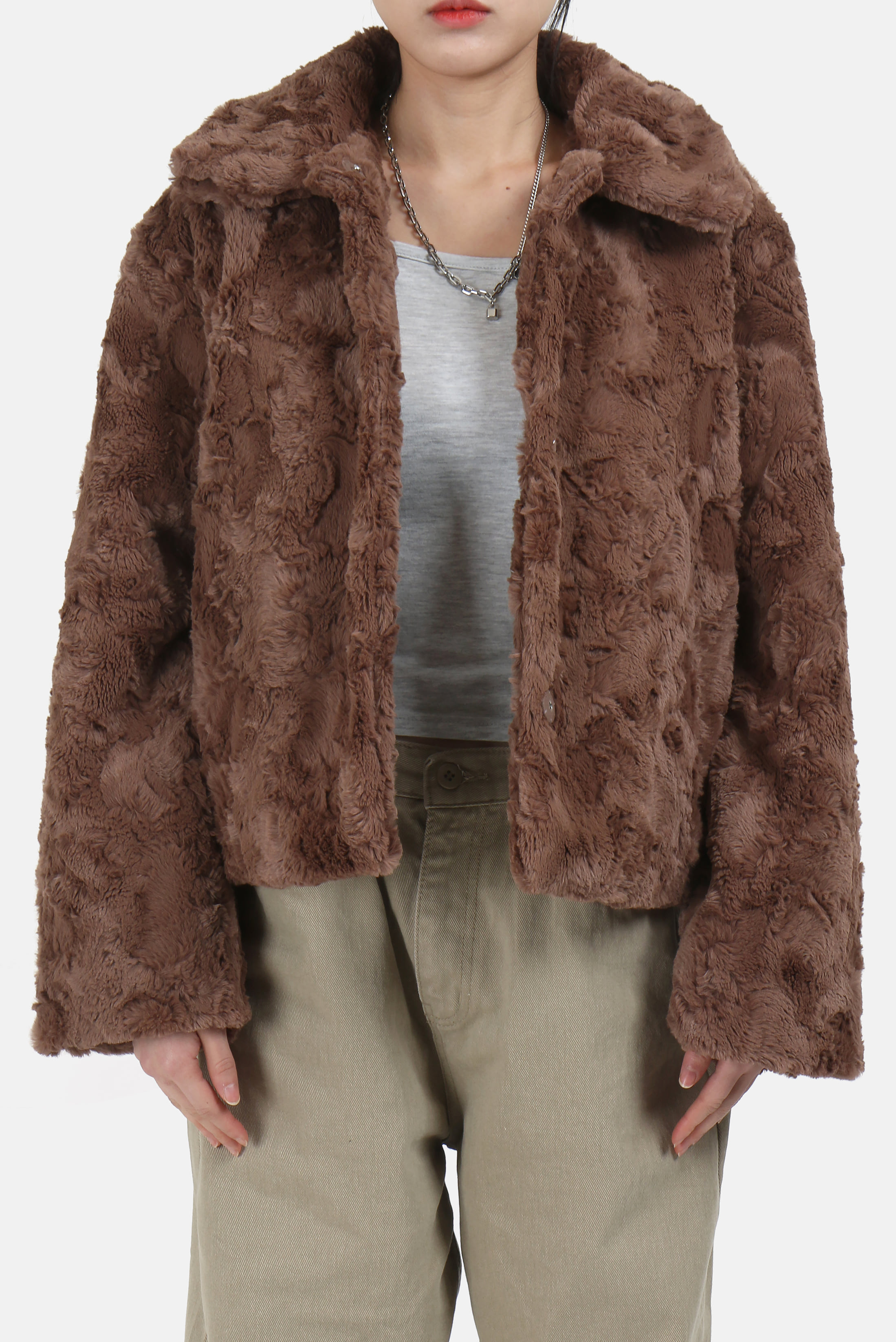 (W) Rabbit_Fur Jacket