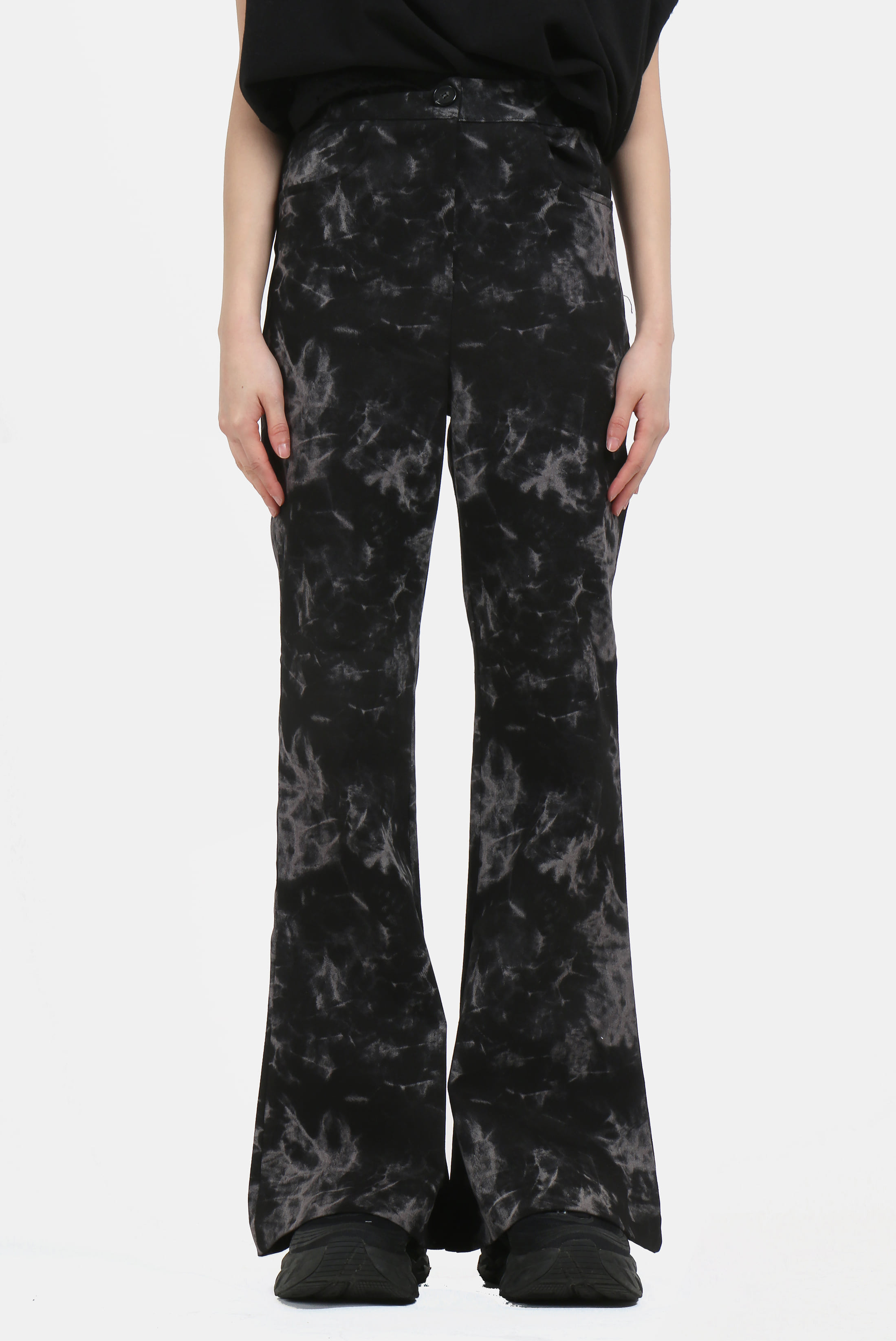 Vintage Tie_Dye Boot-cut Pants
