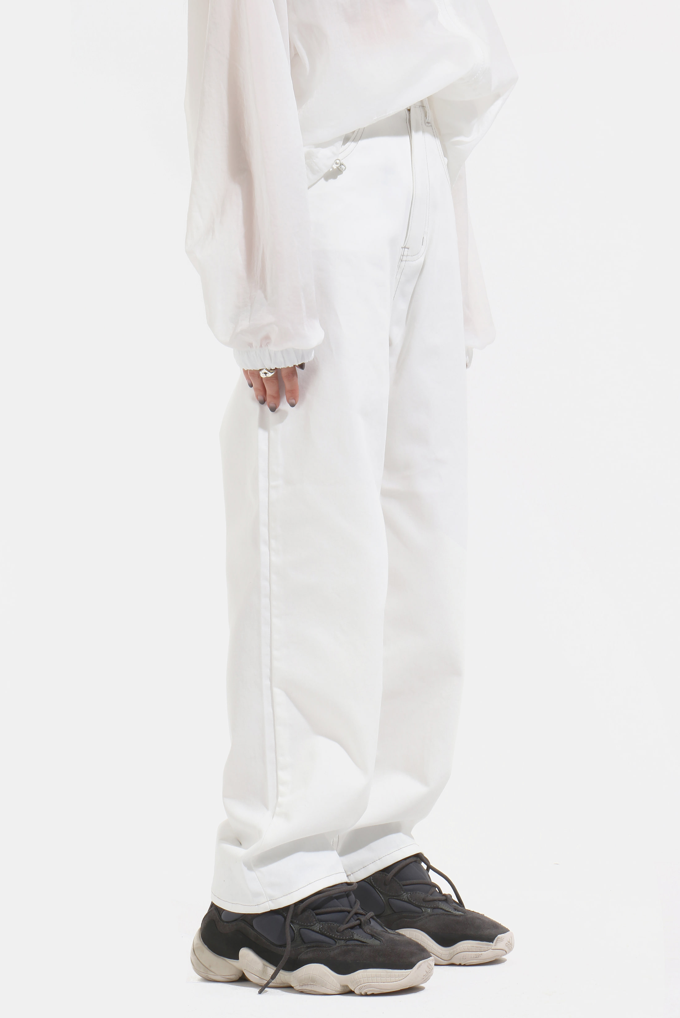 (W) Summer_Cotton Wide_Pants