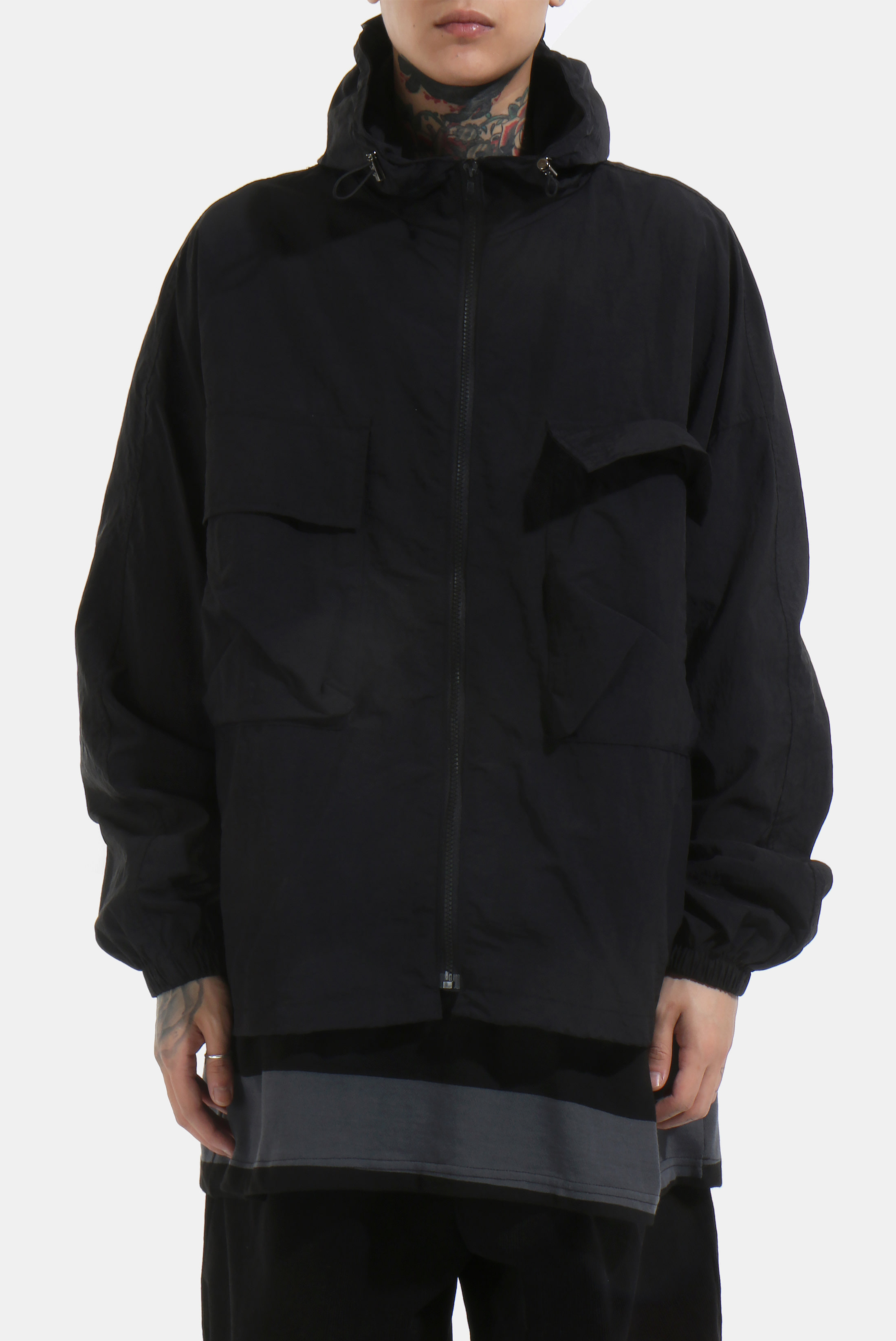 Washer_Nylon Windbreaker