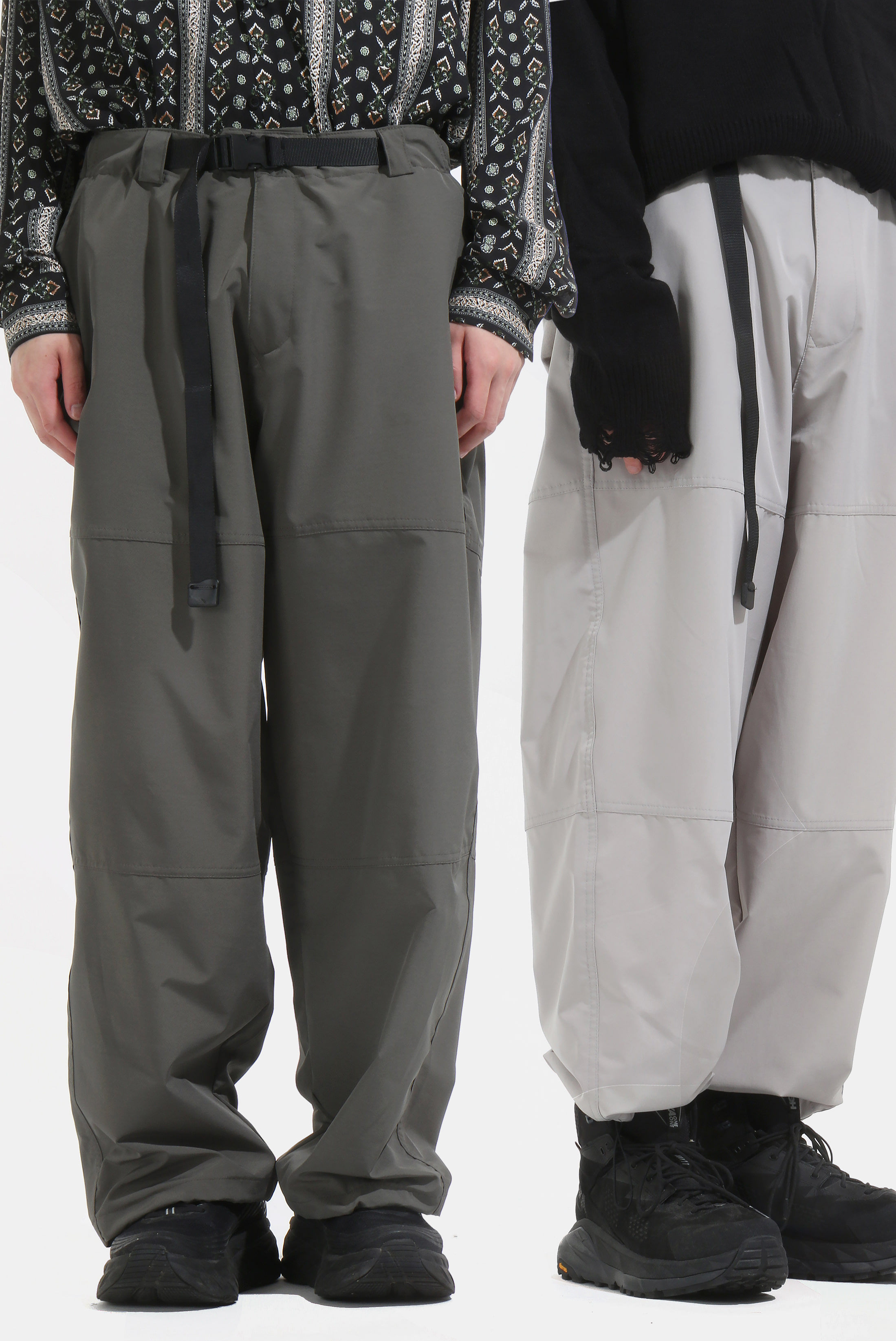 Utility Strap Wide_Long Pants