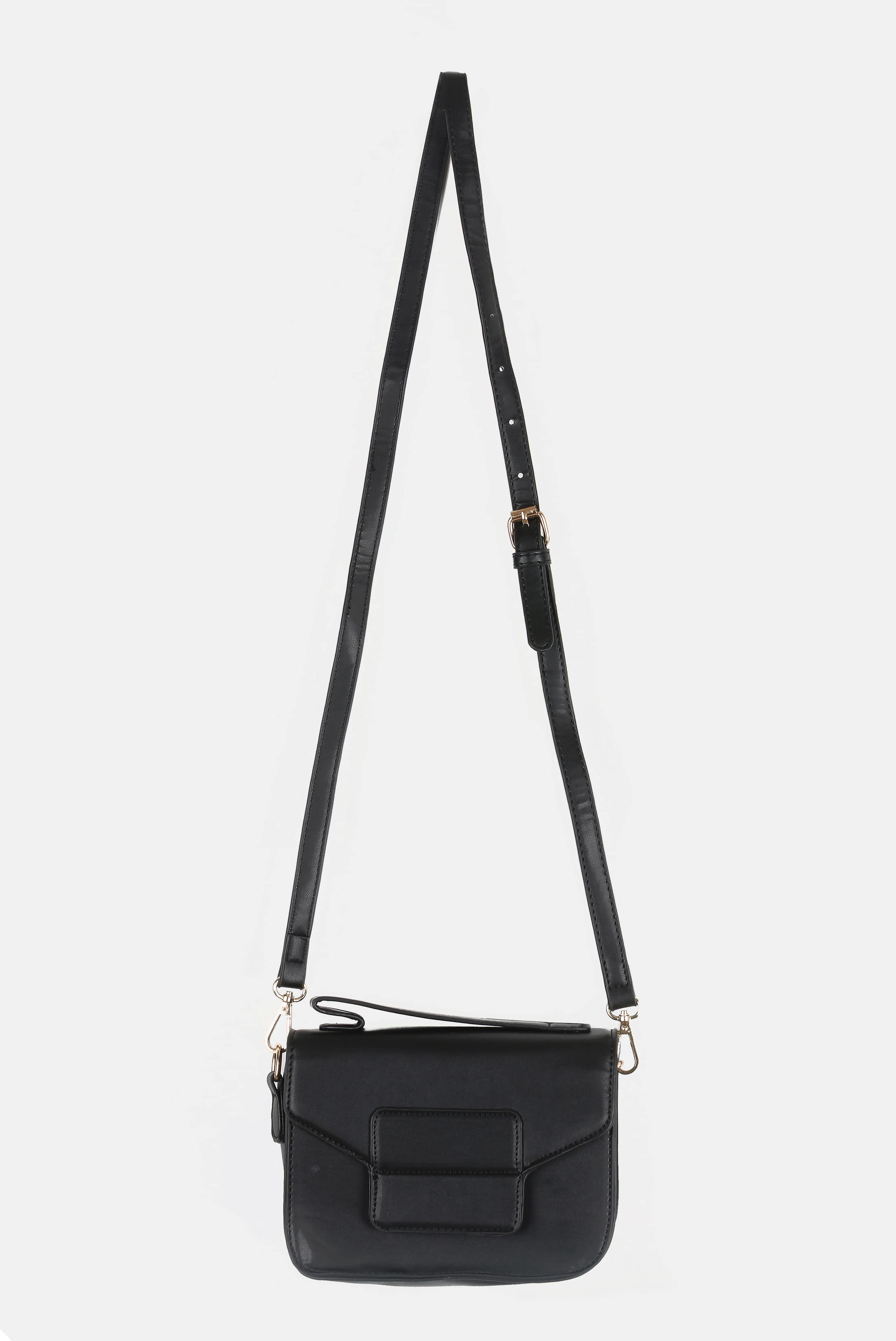 Square_Angled Leather Bag