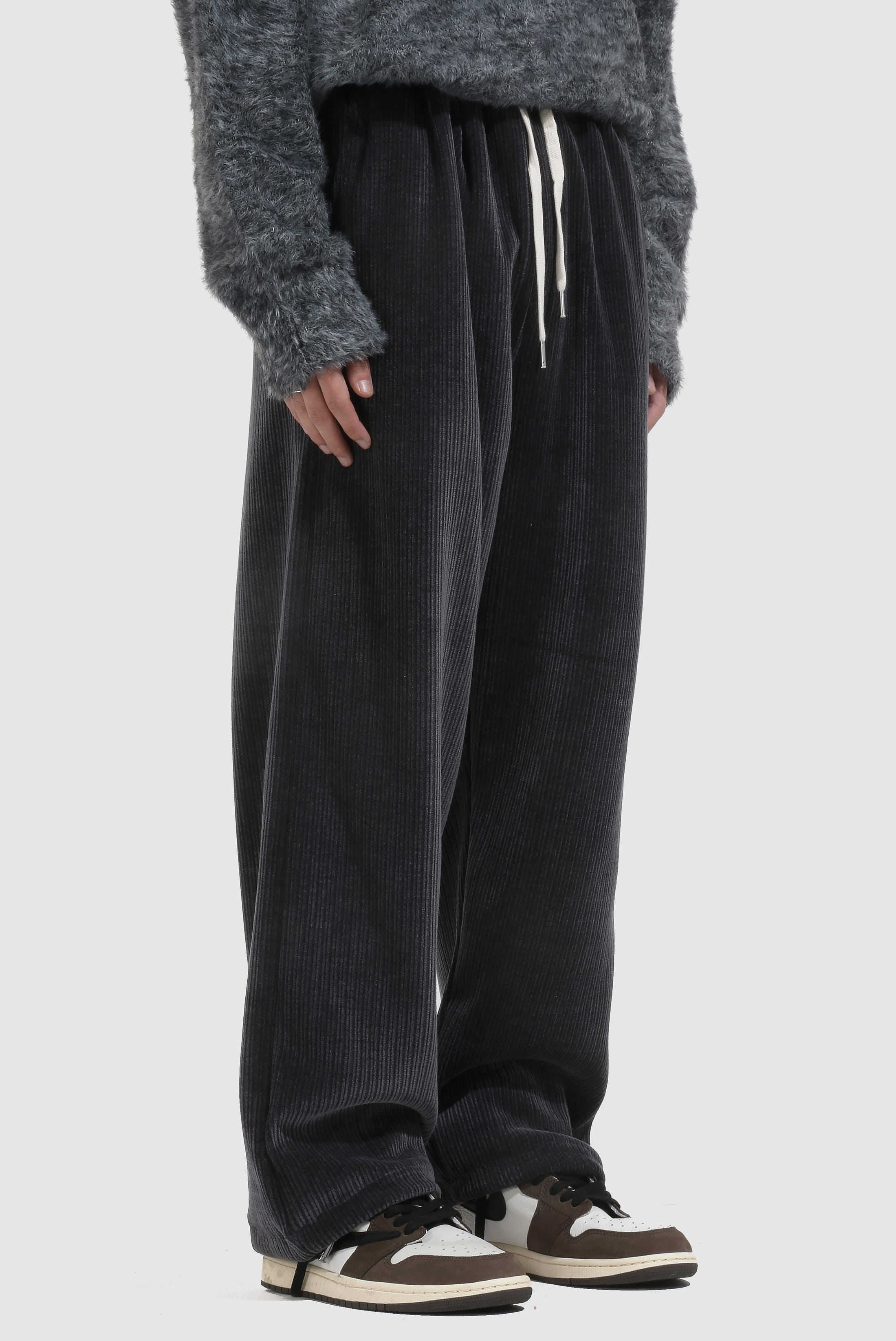 Winter Heavy_Pleats Pants