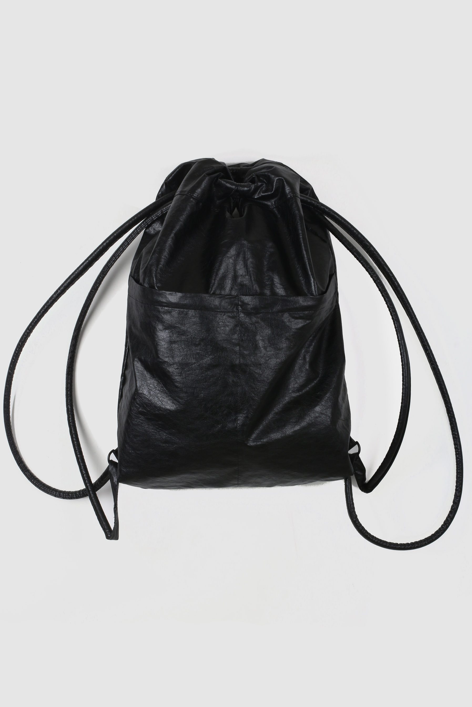 Two_Way Leather Backpack