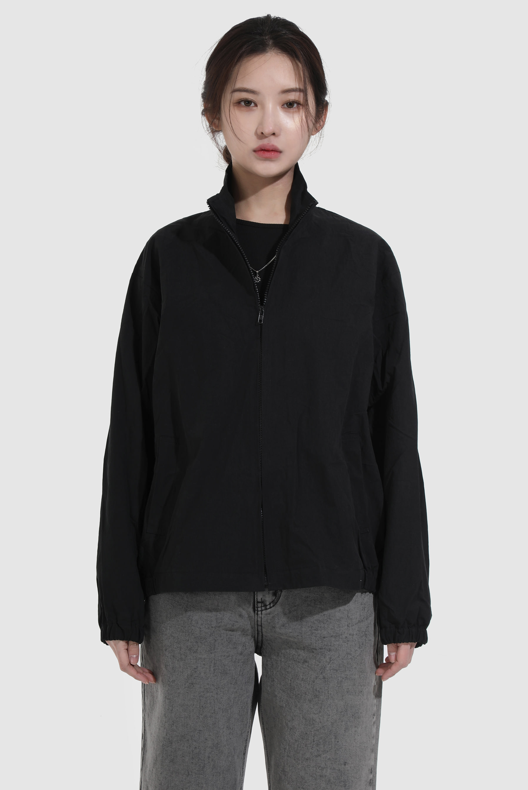 Two_Tone Tez Zip-up