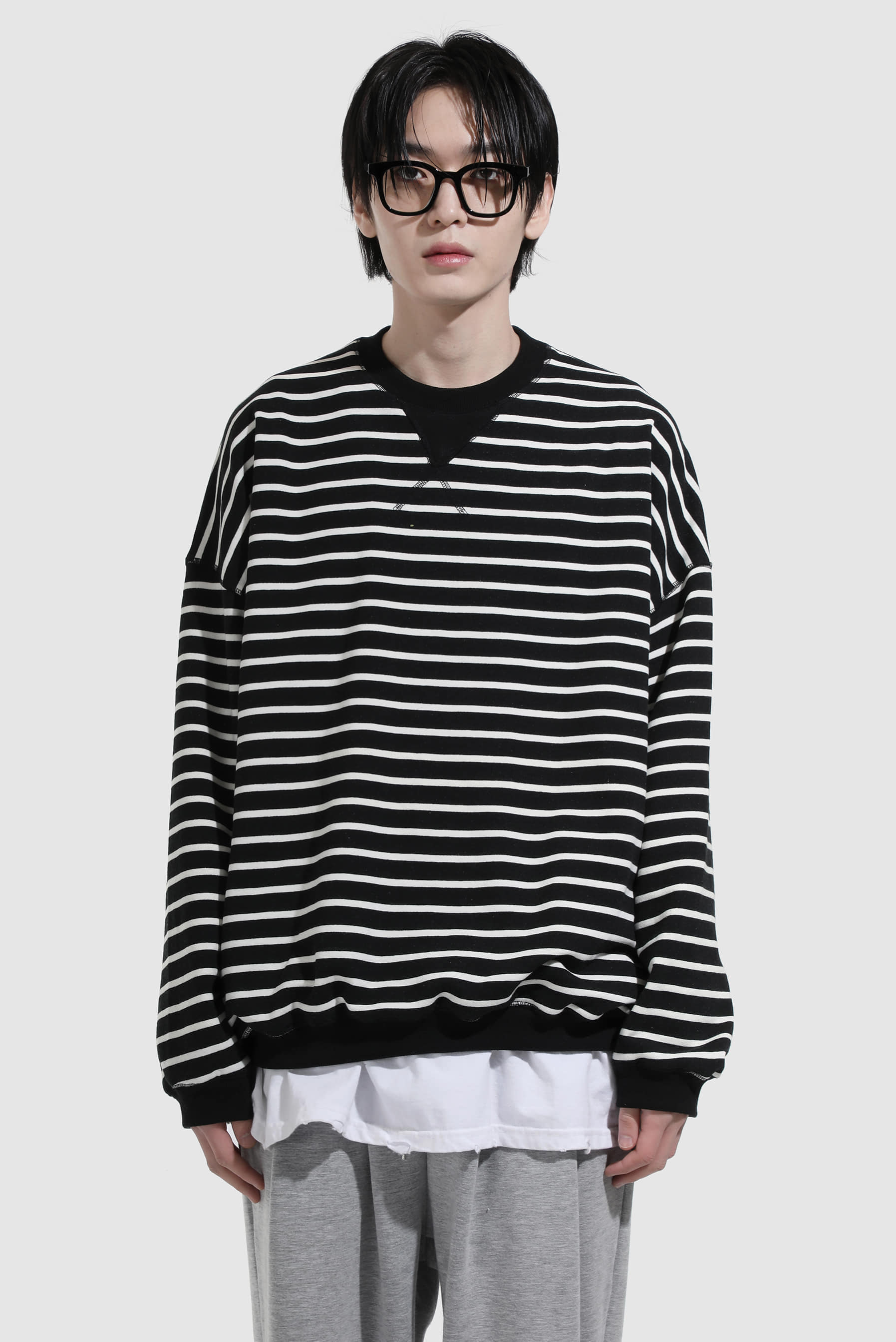 Of_Stripe Sweatshirts