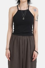 (W) Spandex_Sleeveless Top