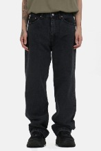 Wide_Fit Standard Black Pants