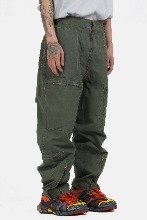 Multi_Zip Waist_Strap Cargo Pants