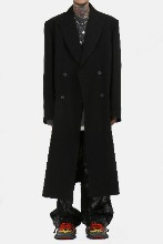 90's Retro Over_Long Coat