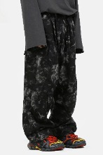 Tie_Dye String Wide_Cargo Pants