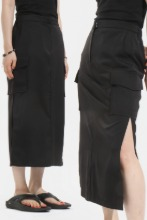(W) Pure Side_Opening Skirt