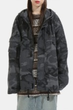 Camouflage Washing Hood_Jacket