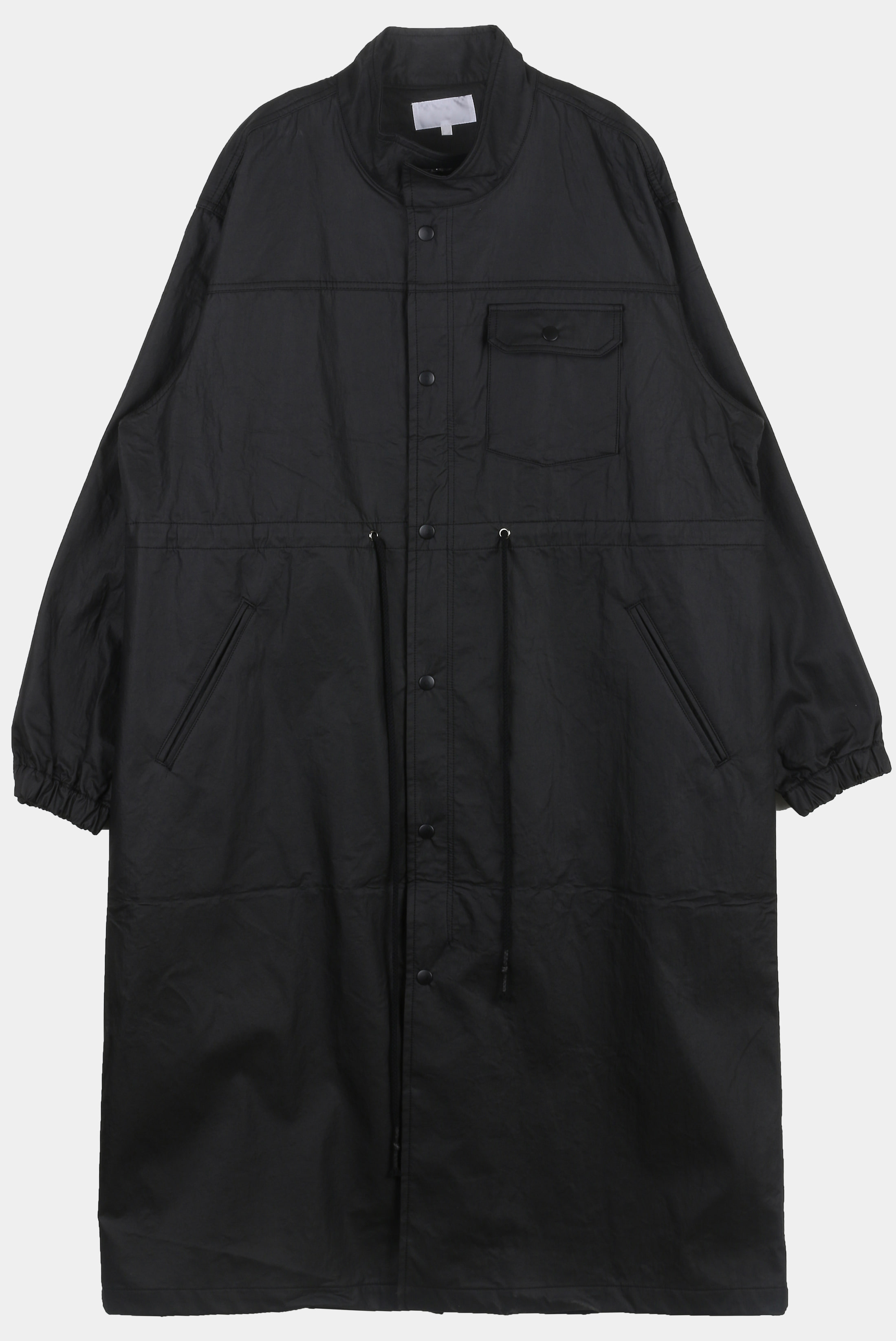 Overlong Cottied Field_Jacket